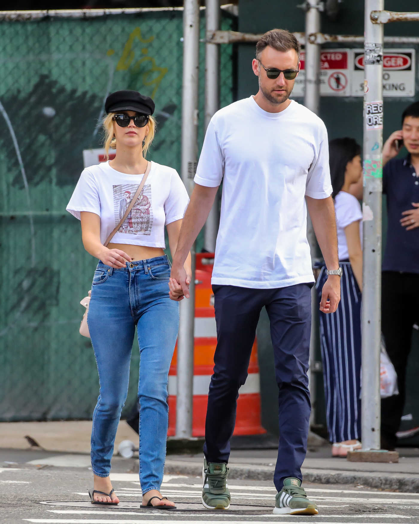Jennifer Lawrence Was Spotted Out with Cooke Maroney in NYC 07/29/2018