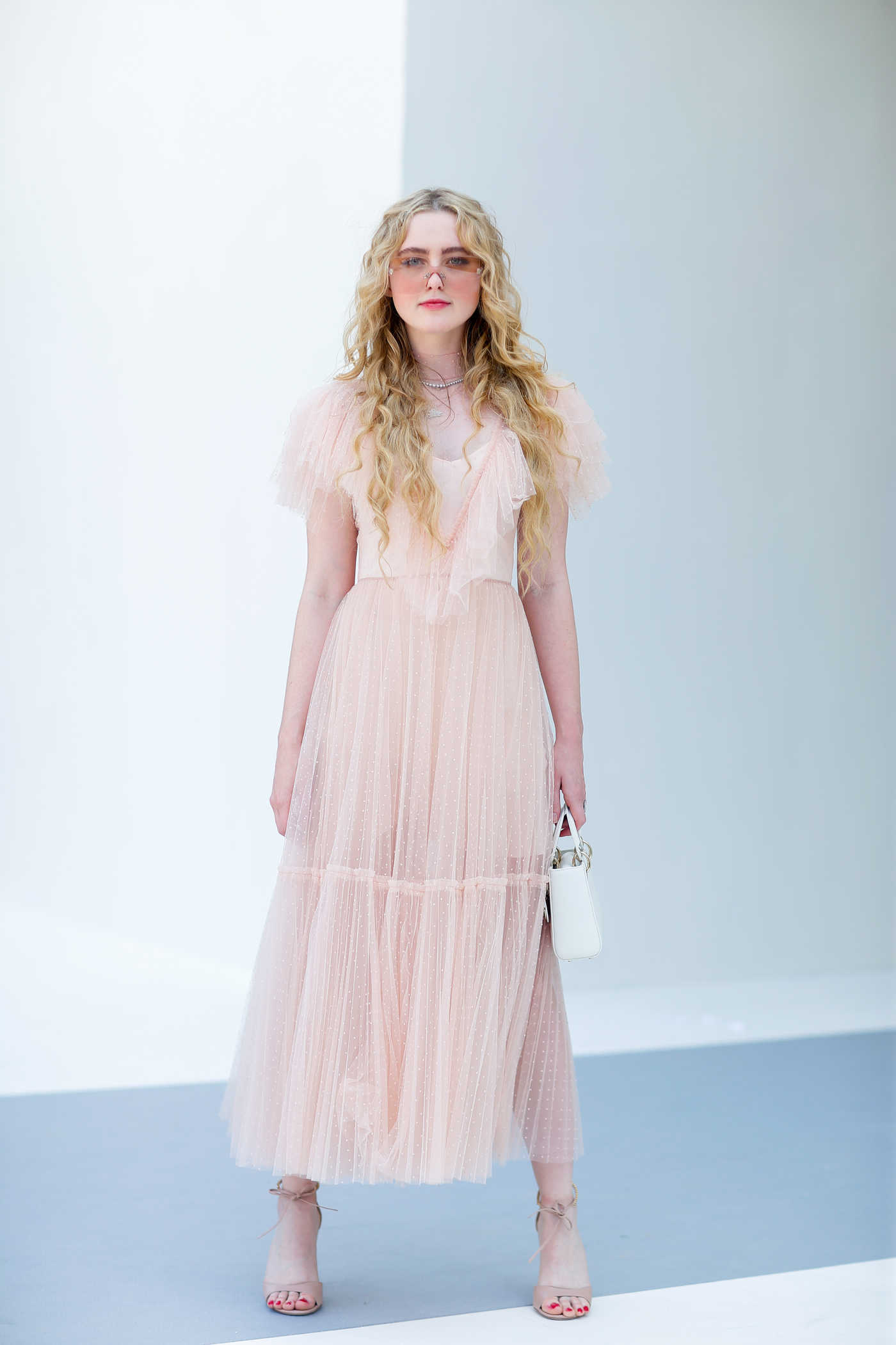 Kathryn Newton Attends 2018 Christian Dior Couture Haute Couture Show in Paris 07/02/2018