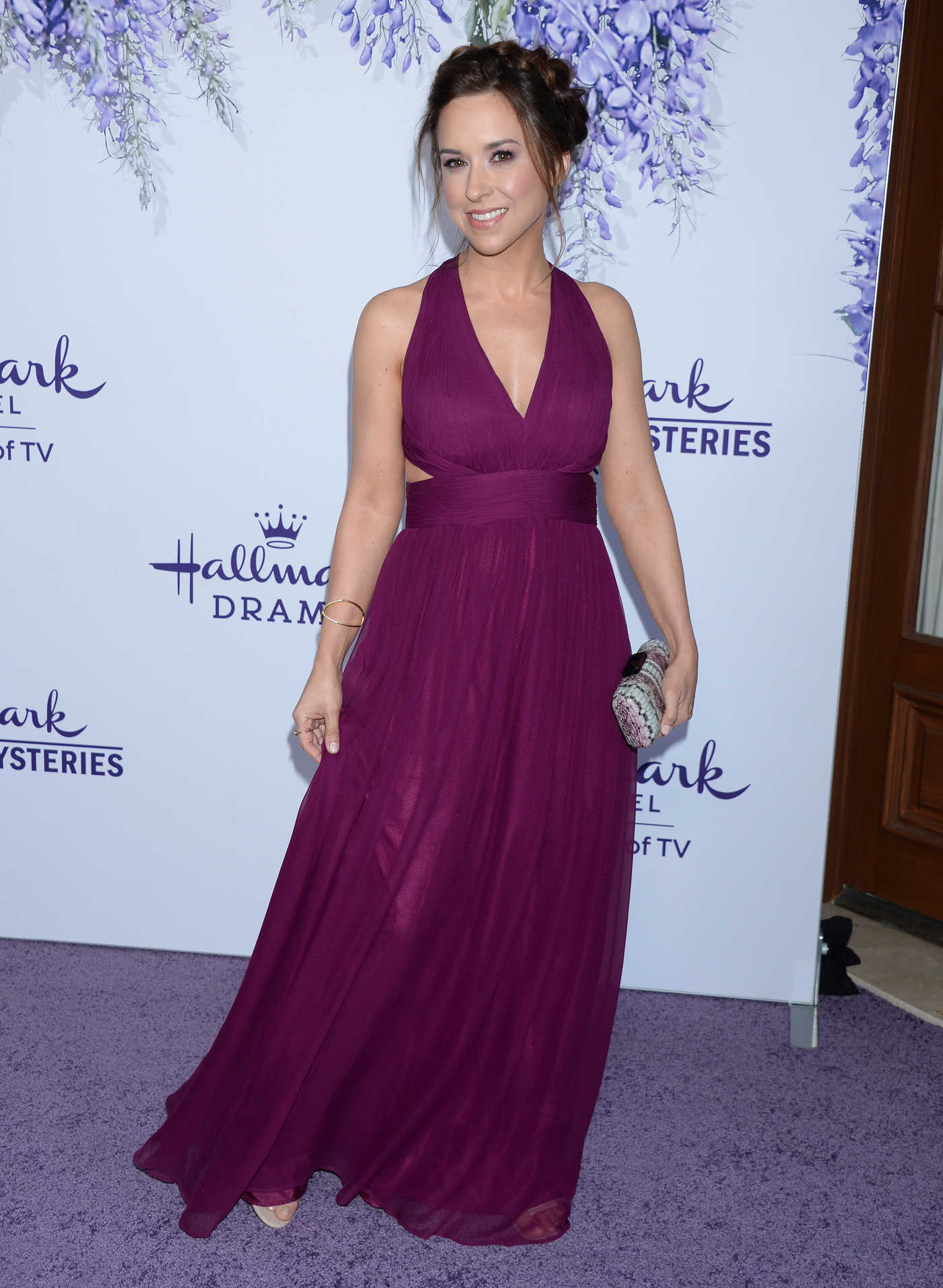 Lacey Chabert Attends Hallmark's Evening Gala TCA Summer Press Tour in LA 07/26/2018
