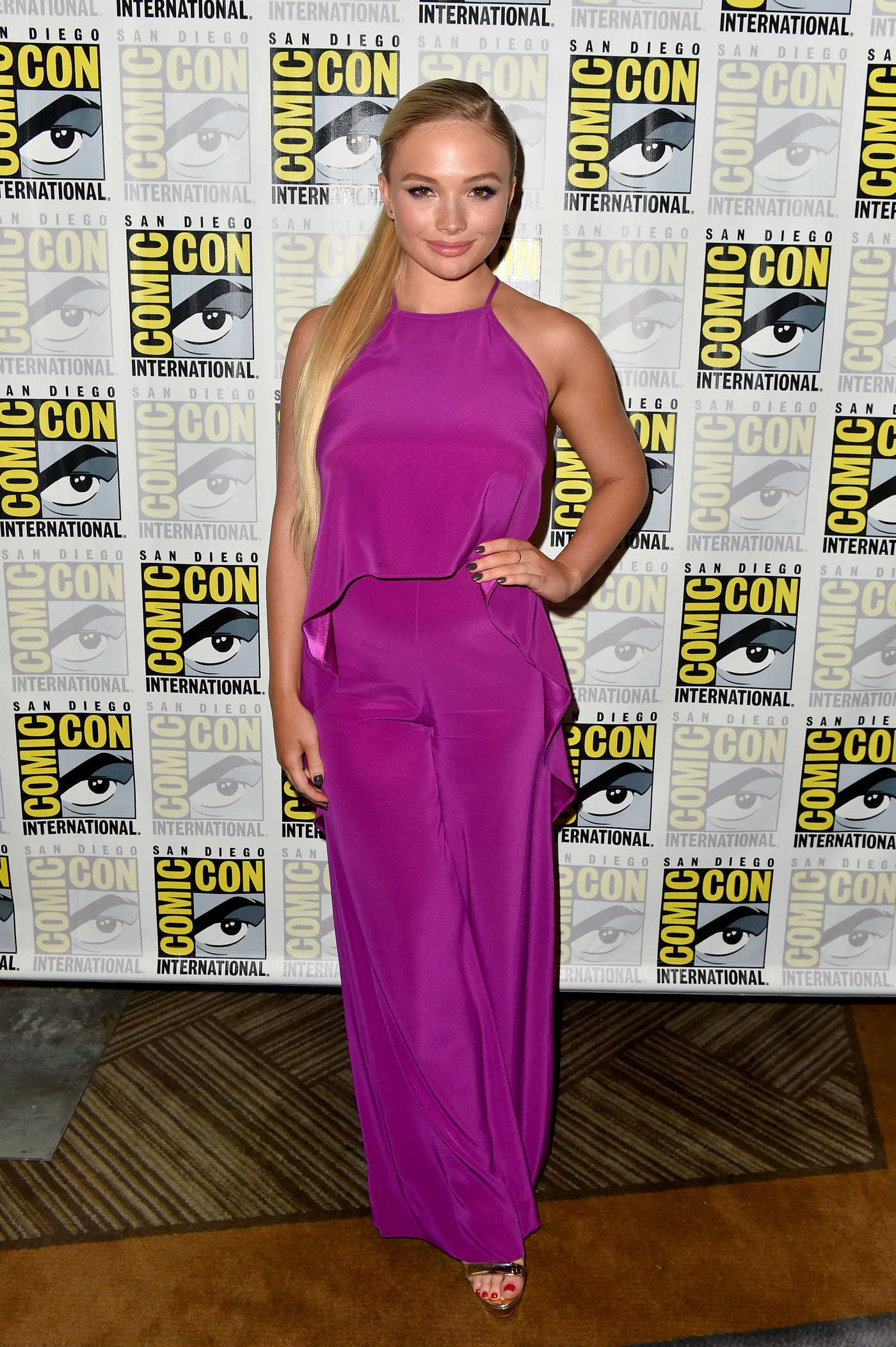 Natalie Alyn Lind at The Gifted Press Line During 2018 Comic-Con in San Diego 07/21/2018