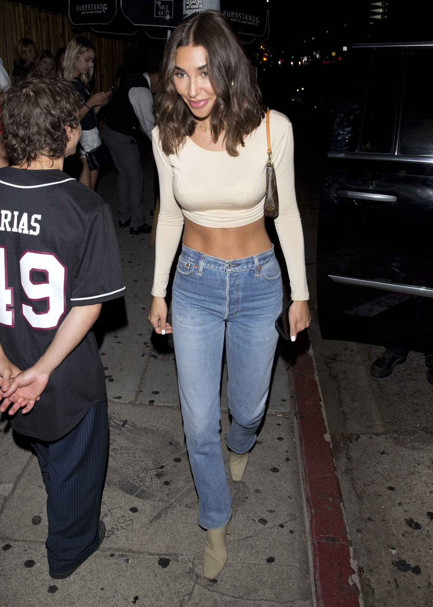 Chantel Jeffries Shows off Her Flat Tummy at Milk Studios in Hollywood 08/24/2018