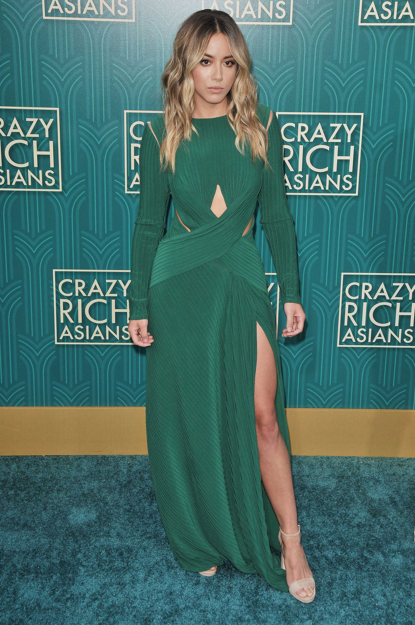 Chloe Bennet at the Crazy Rich Asians Premiere in Los Angeles 08/07/2018