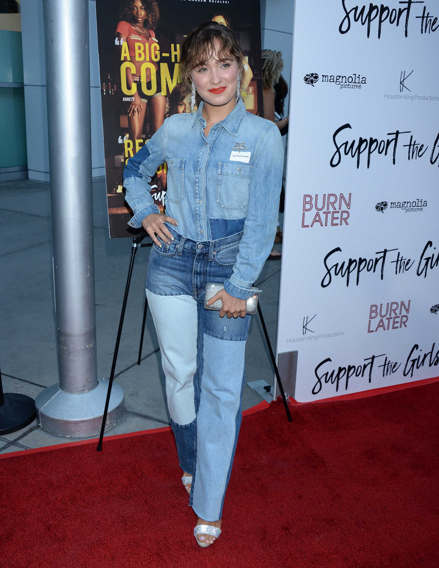 Haley Lu Richardson at Support The Girls Premiere in LA 08/22/2018