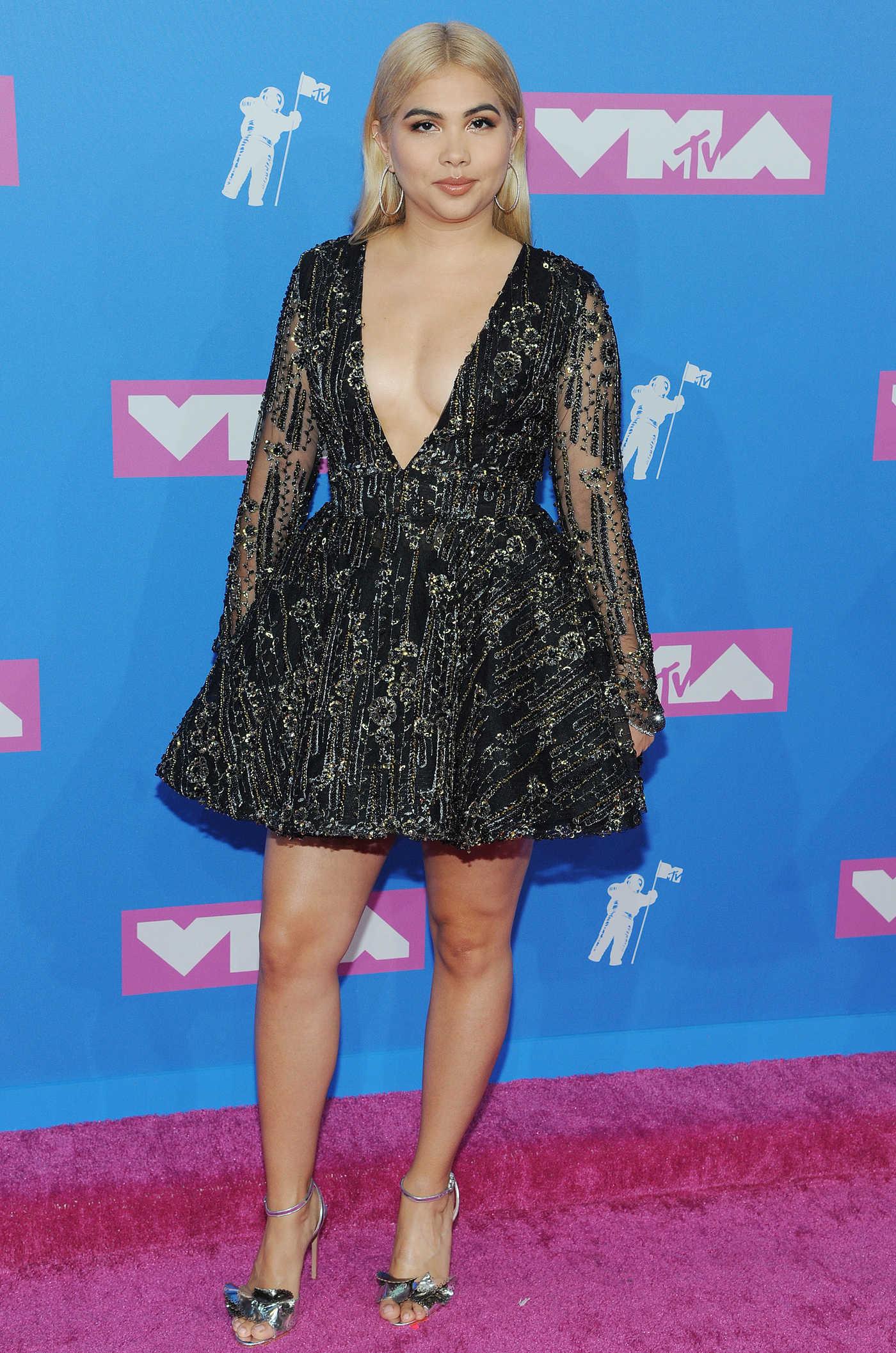 Hayley Kiyoko Attends 2018 MTV Video Music Awards in New York 08/20/2018