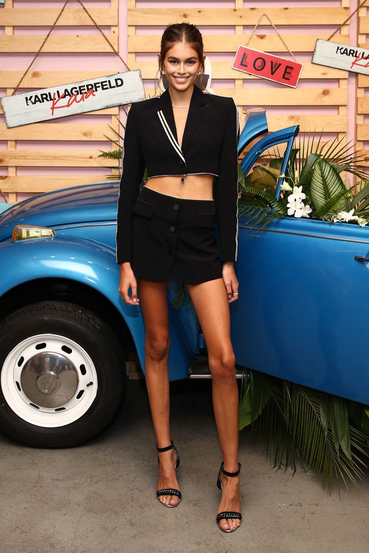 Kaia Gerber at the Karl Lagerfeld x Revolve Launch Event in Los Angeles 08/30/2018