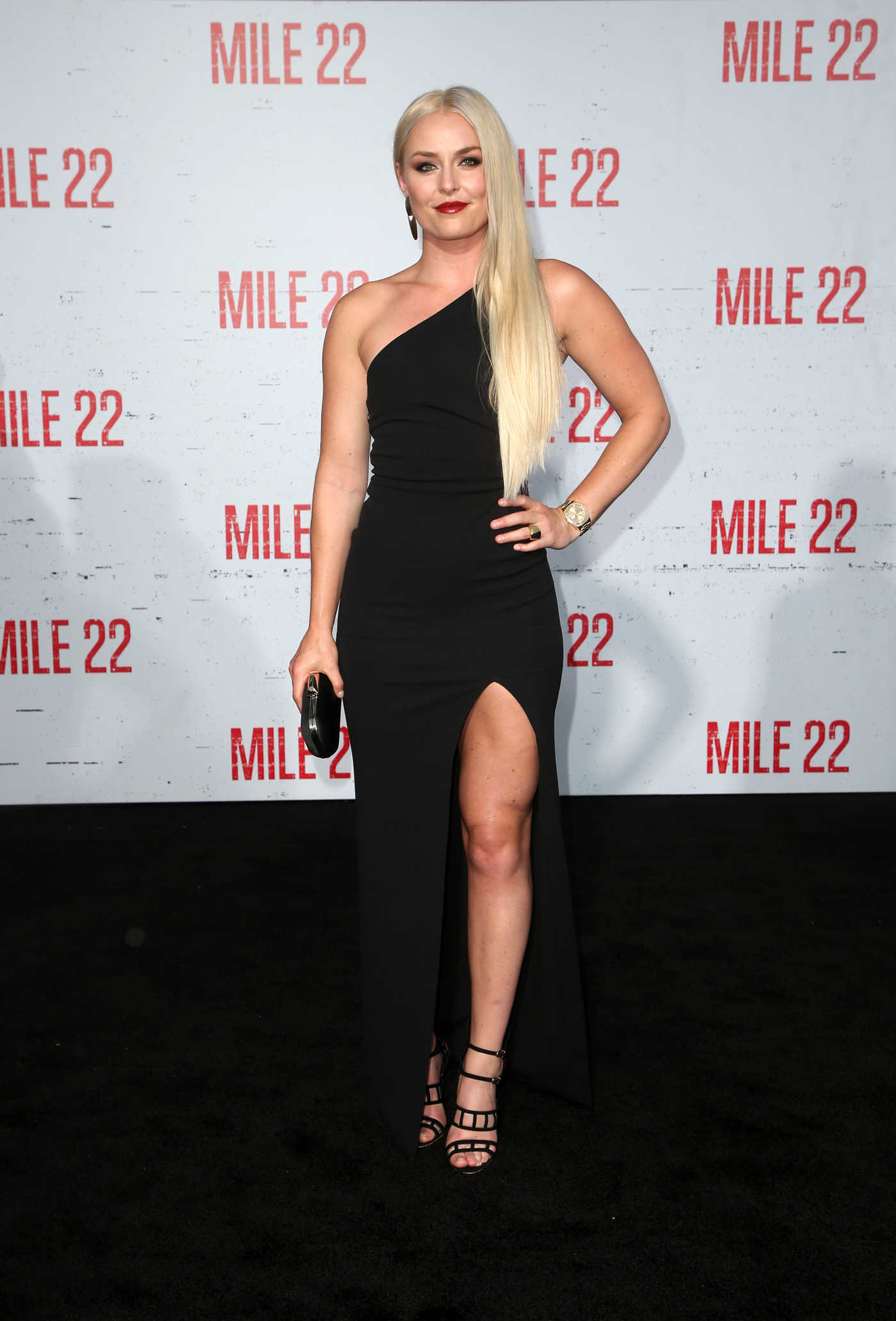Lindsey Vonn at the Mille 22 Premiere in Westwood 08/09/2018