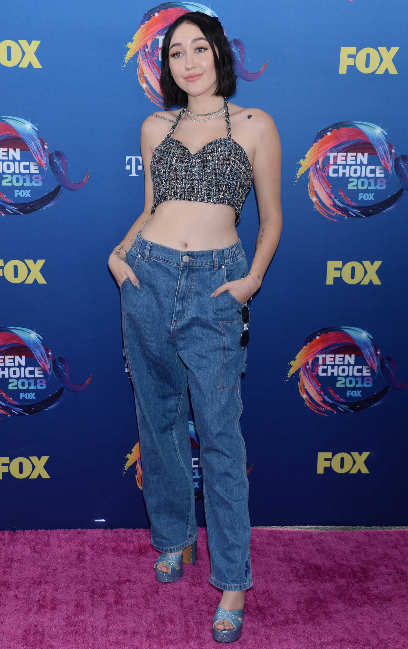 Noah Cyrus at 2018 Teen Choice Awards in Inglewood 08/12/2018