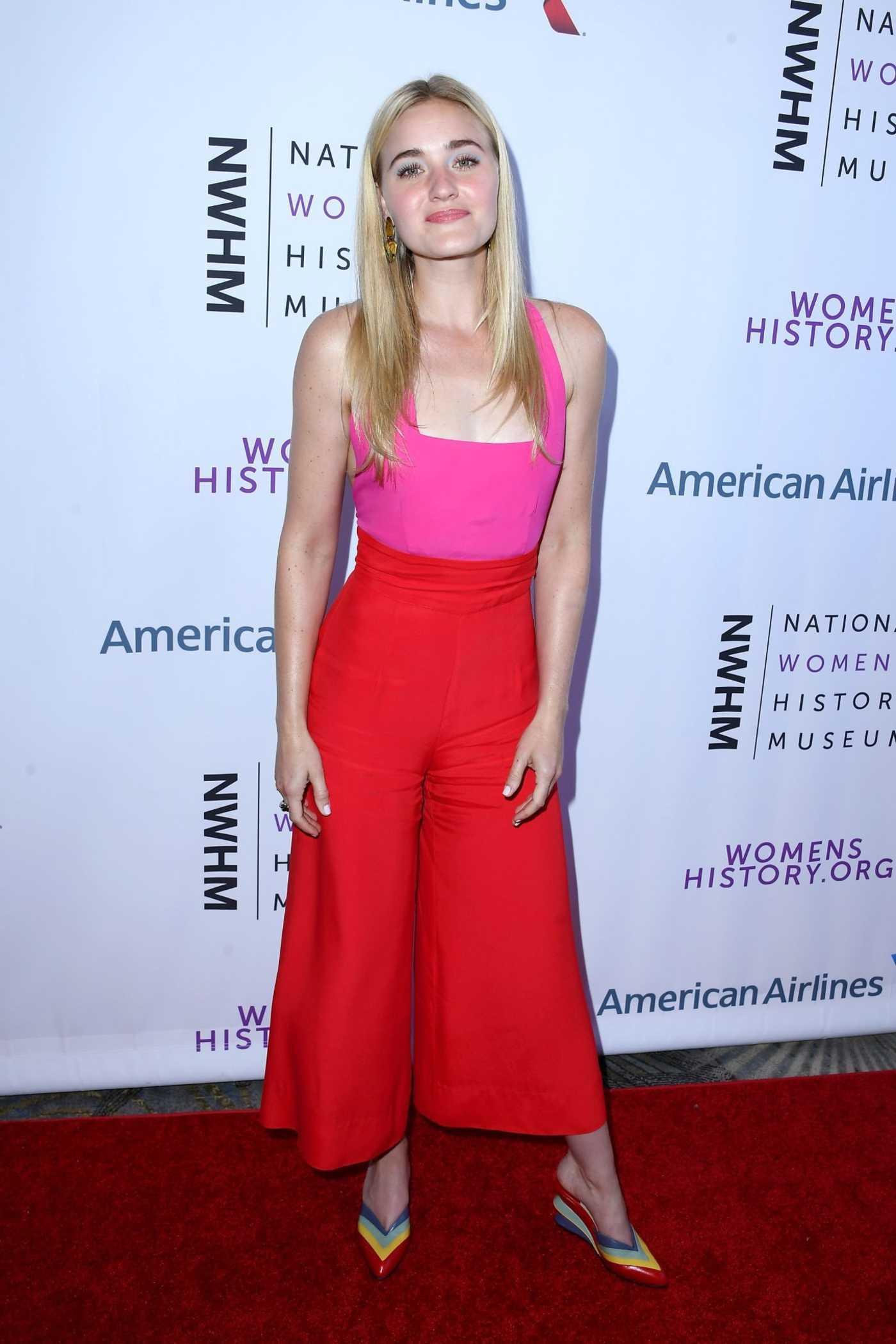 AJ Michalka at the 7th Annual Women Making History Awards in Beverly Hills 09/15/2018