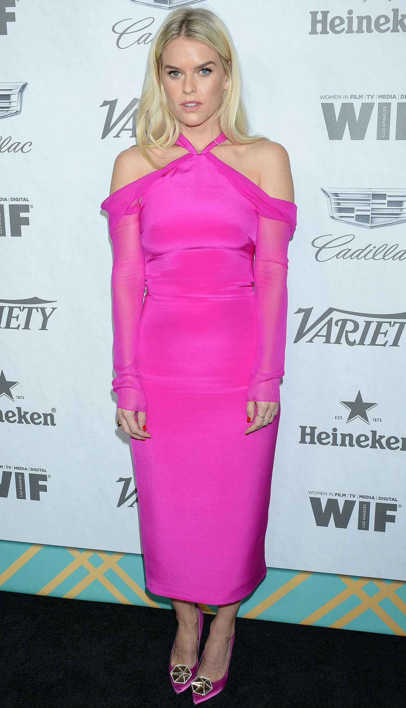 Alice Eve Attends Variety and Women in Film's 2018 Pre-Emmy Celebration in West Hollywood 09/15/2018