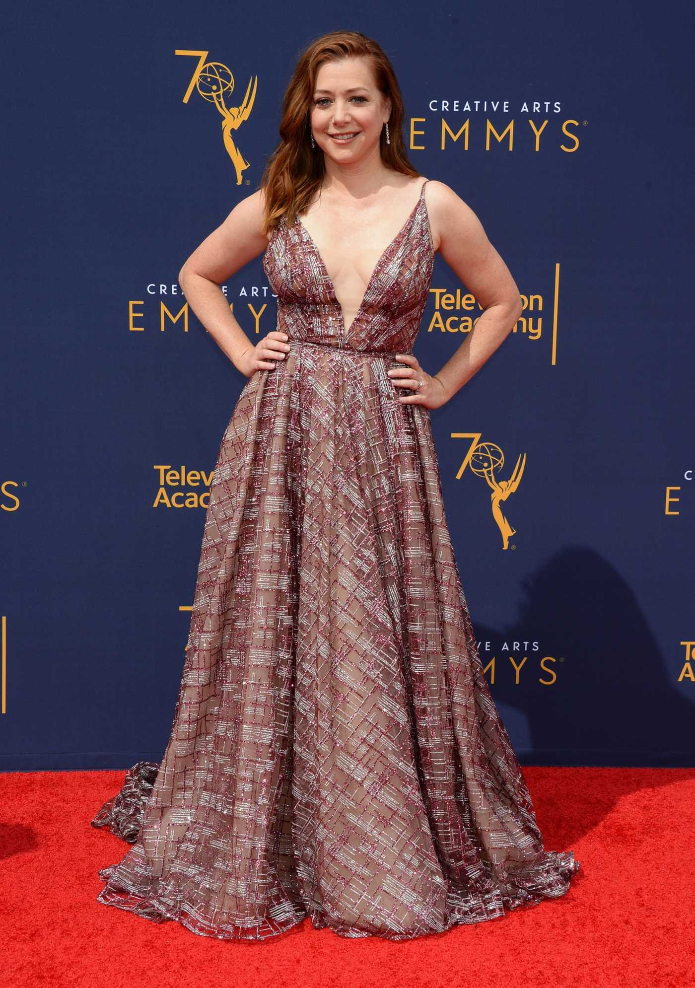 Alyson Hannigan at the 70th Primetime Creative Arts Emmy Awards in LA 09/09/2018
