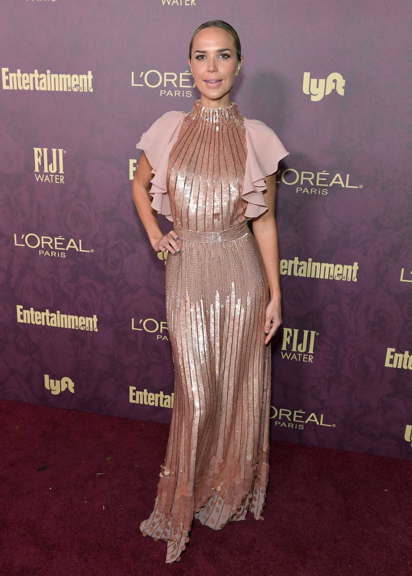 Arielle Kebbel Attends Entertainment Weekly and L'Oreal Paris Pre-Emmy Party in Los Angeles 09/15/2018