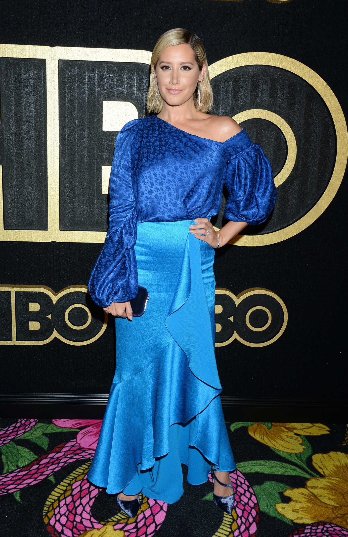 Ashley Tisdale at the 70th Primetime Emmy Awards HBO Party in LA 09/17/2018