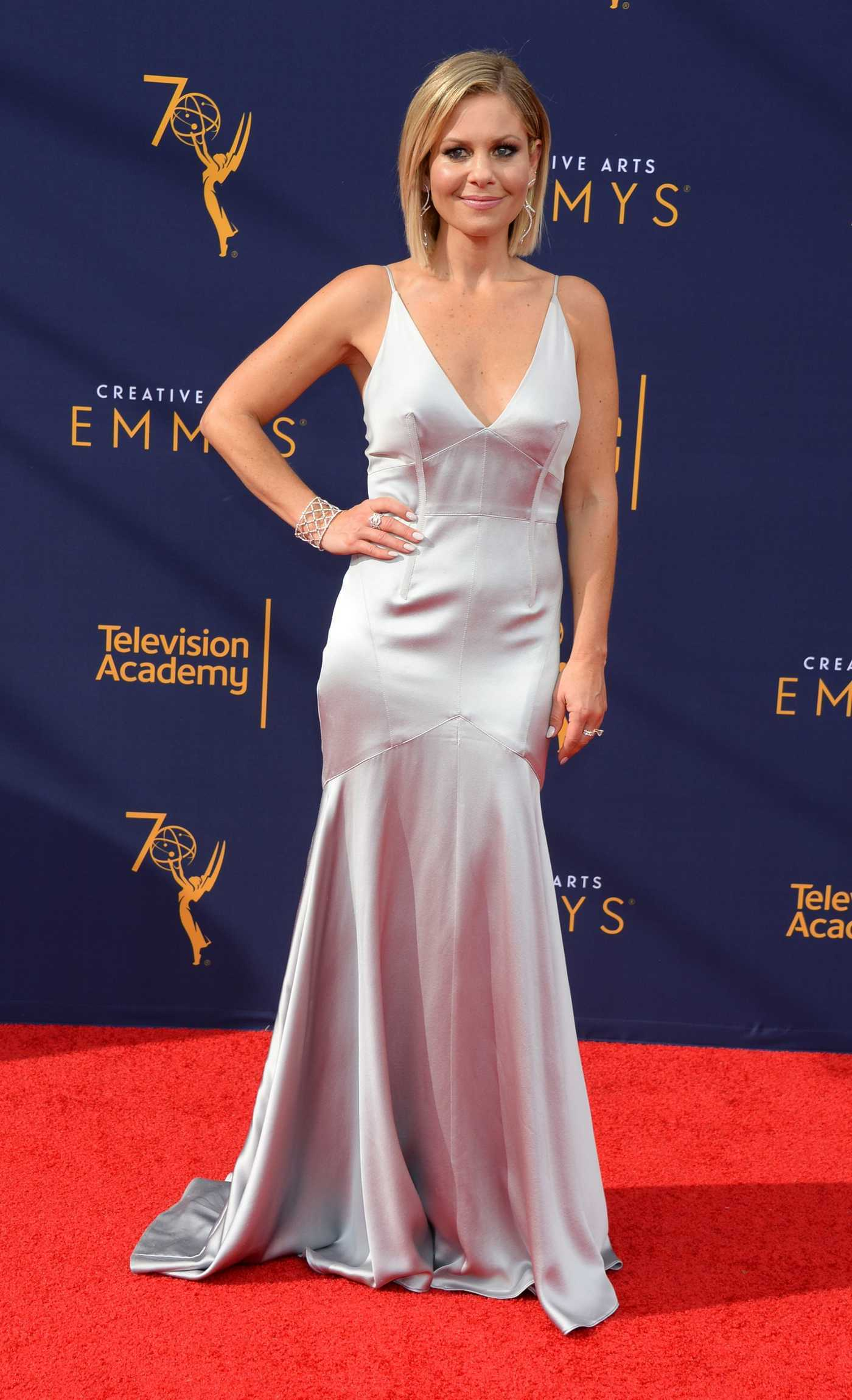 Candace Cameron Bure at the 70th Primetime Creative Arts Emmy Awards in LA 09/09/2018