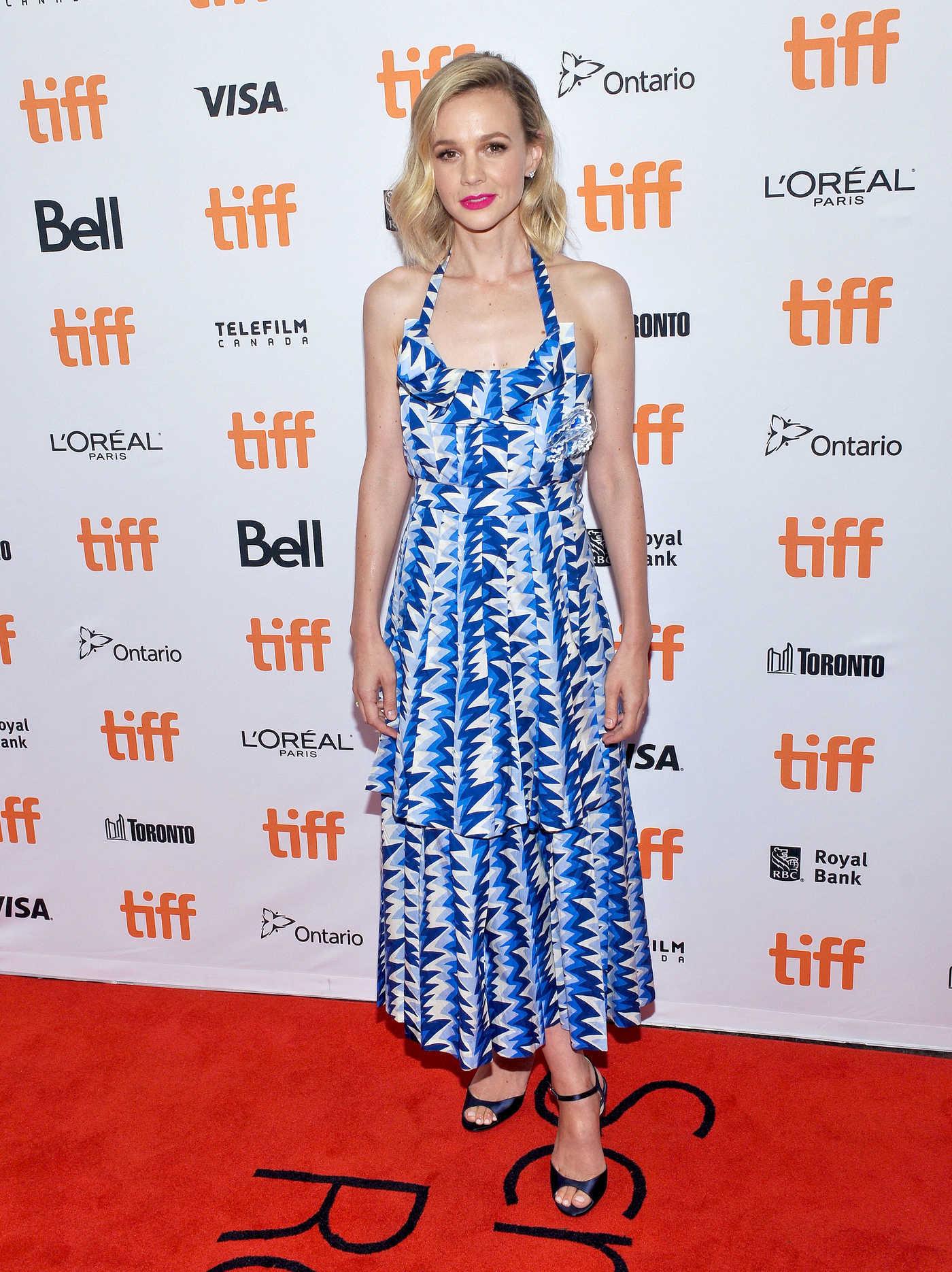 Carey Mulligan at Wildlife Premiere During the Toronto International Film Festival in Toronto 09/10/2018