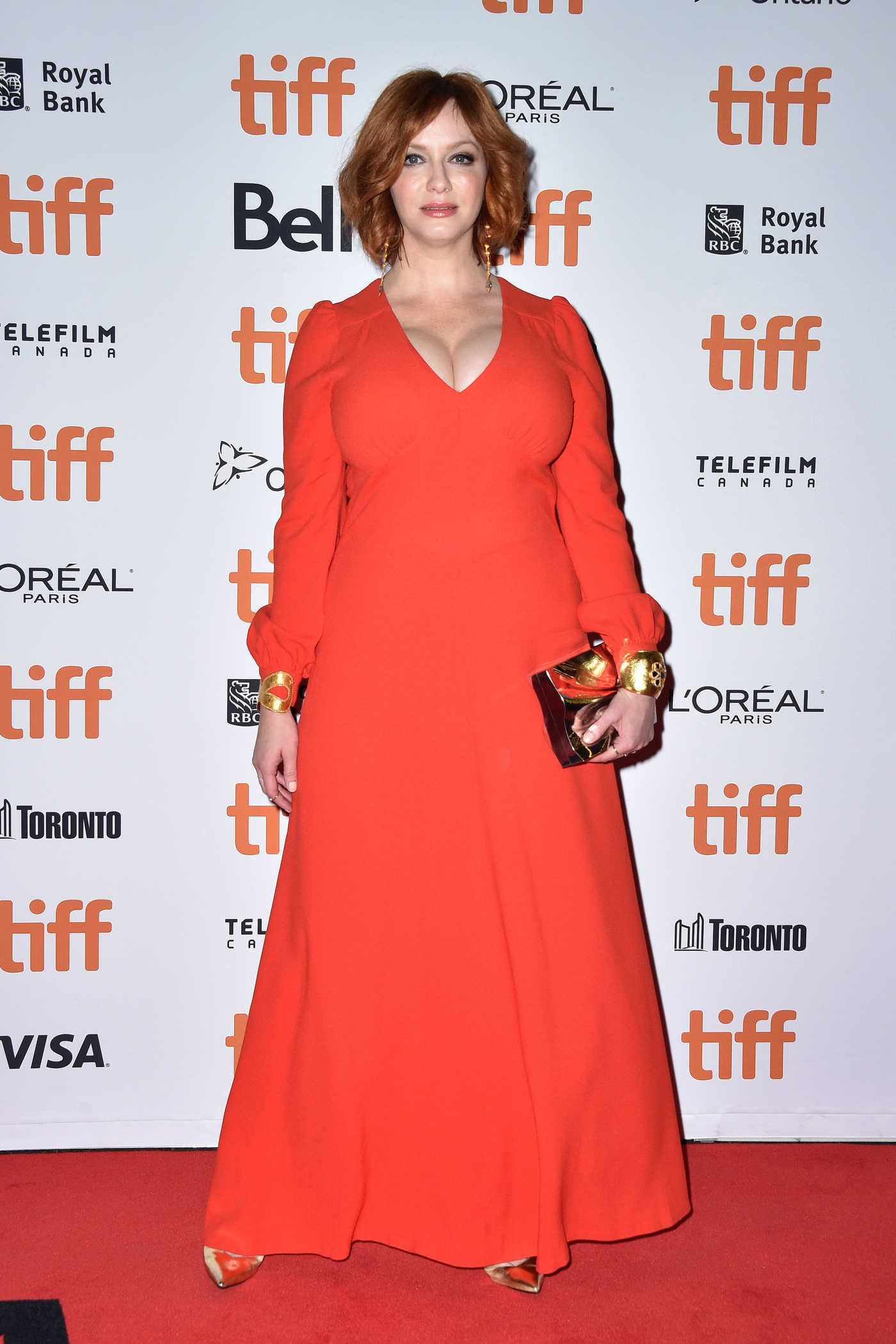 Christina Hendricks at American Women Screening During the Toronto International Film Festival in Toronto 09/09/2018