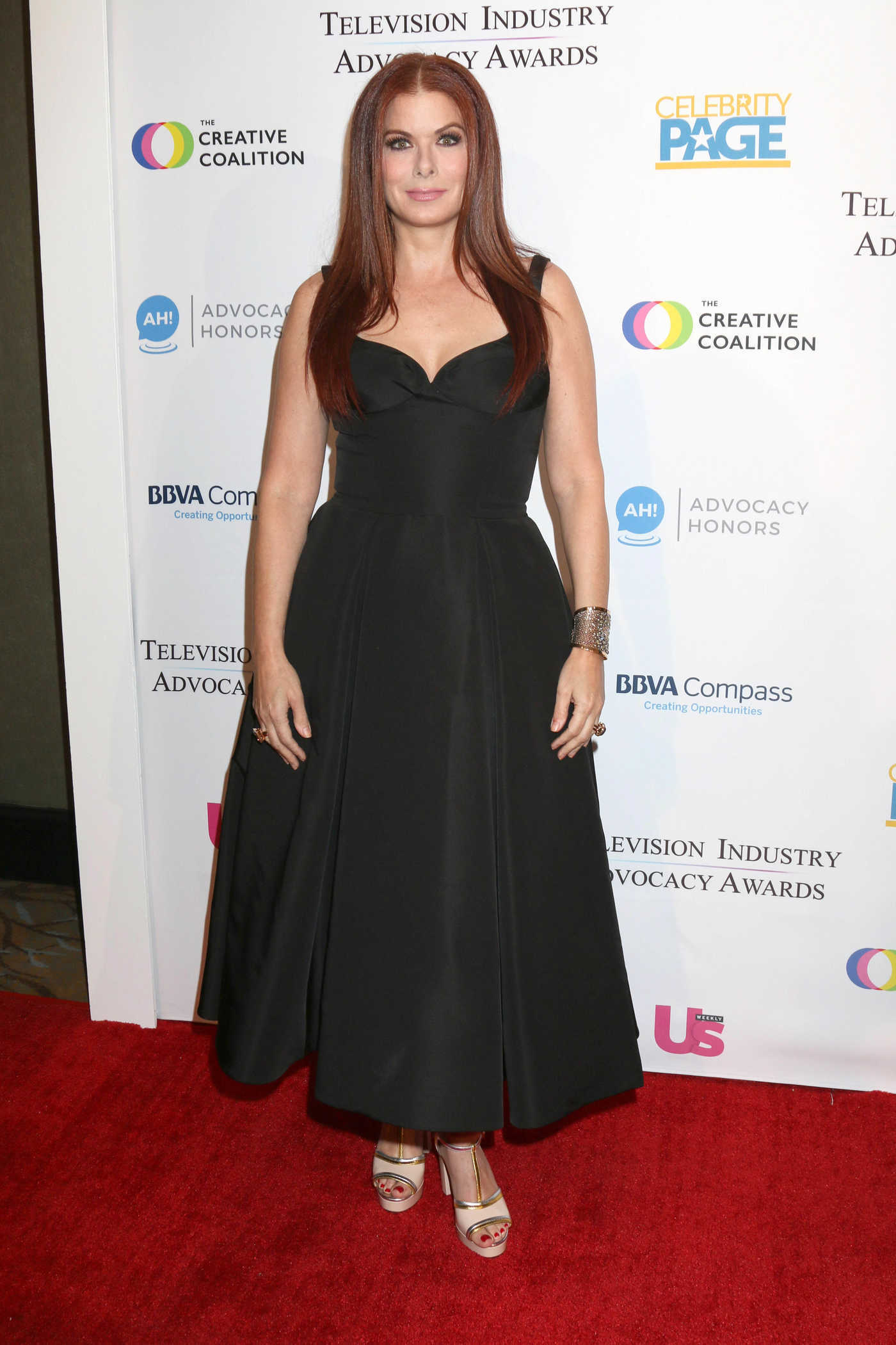 Debra Messing at 2018 Television Industry Advocacy Awards in LA 09/15/2018