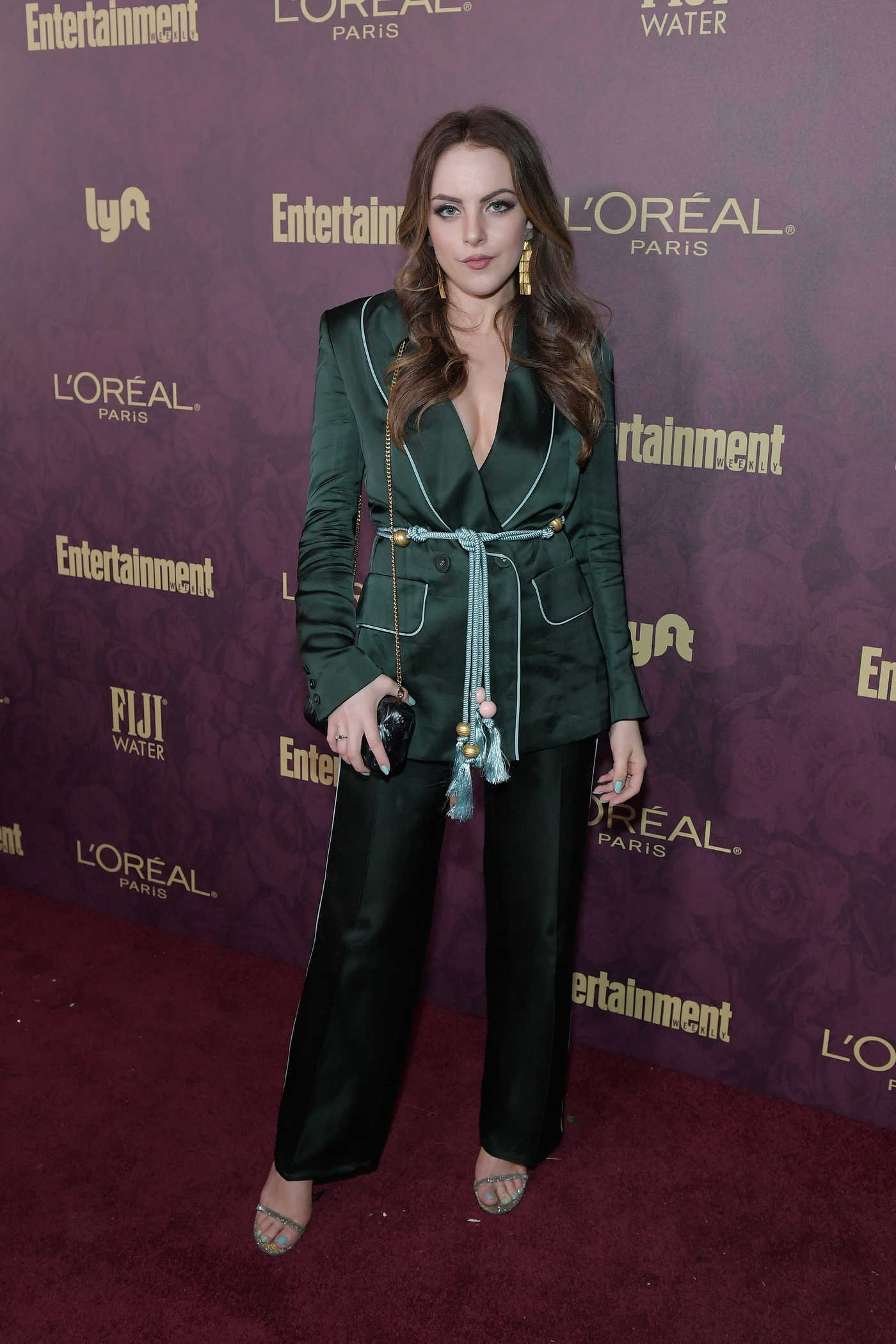 Elizabeth Gillies Attends Entertainment Weekly and L'Oreal Paris Pre-Emmy Party in Los Angeles 09/15/2018
