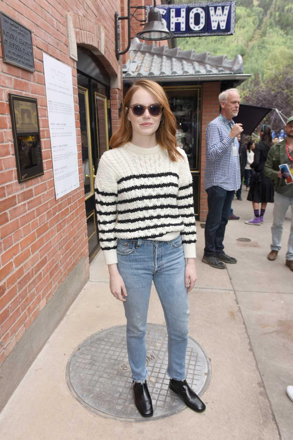 Emma Stone Attends 2018 Telluride Film Festival in Telluride 09/01/2018