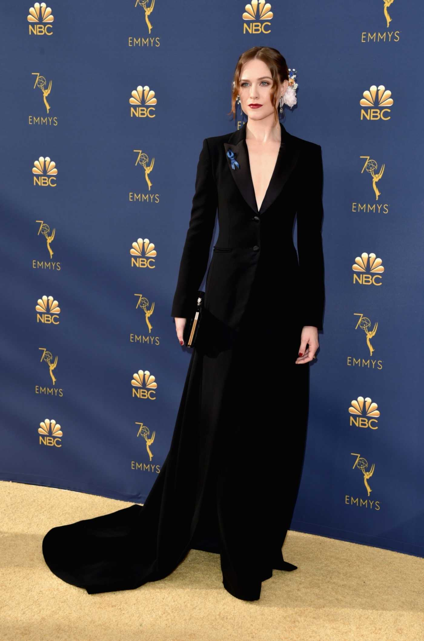 Evan Rachel Wood at the 70th Primetime Emmy Awards in LA 09/17/2018
