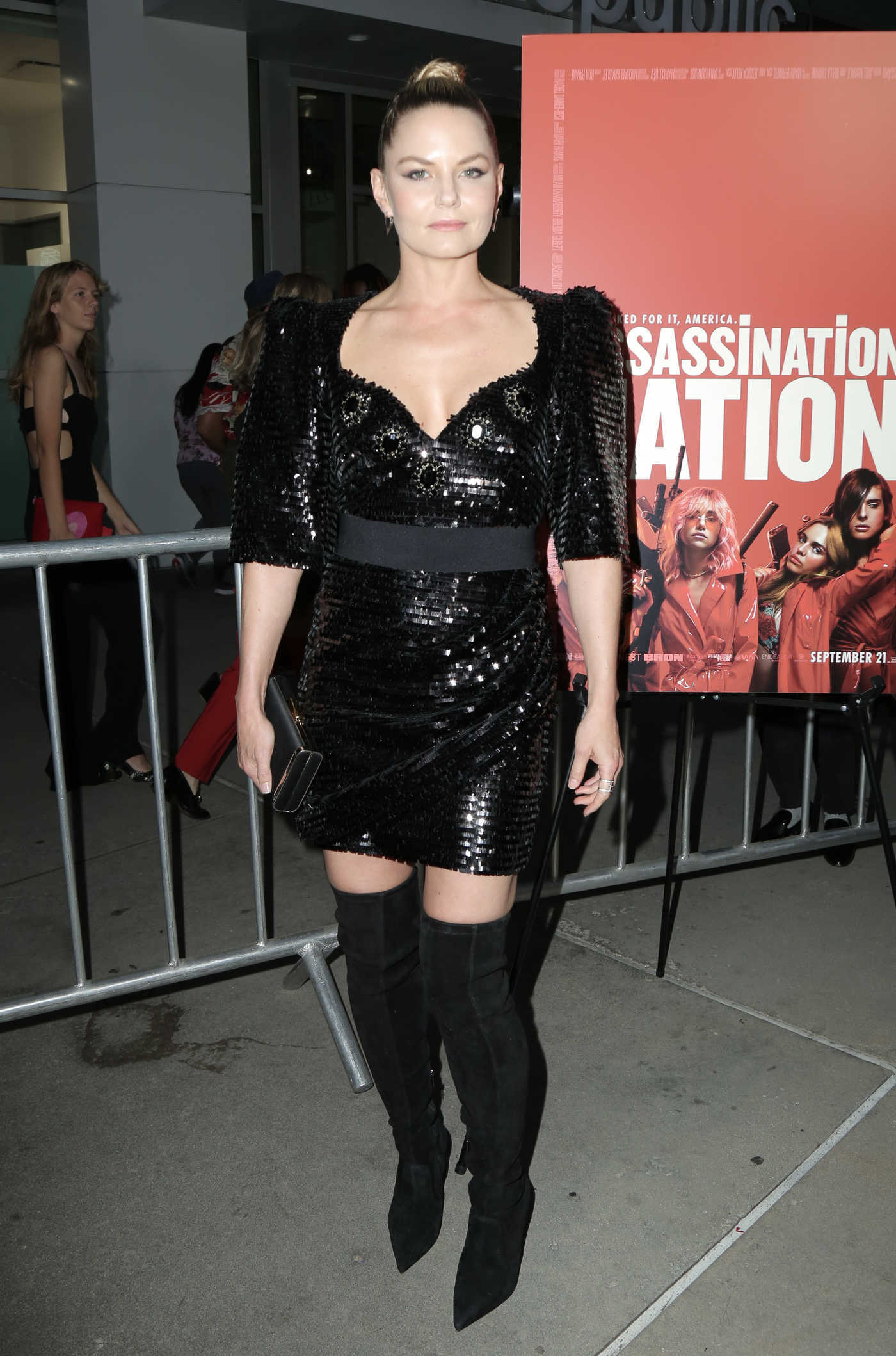 Jennifer Morrison Attends Assassination Nation Premiere in LA 09/12/2018