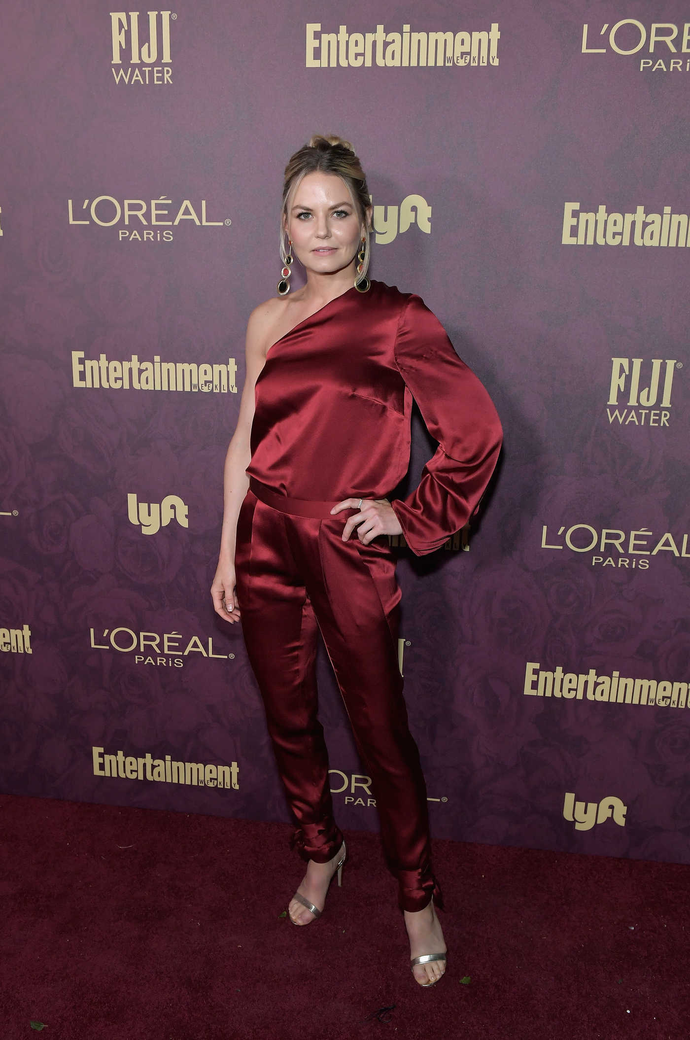 Jennifer Morrison Attends Entertainment Weekly and L'Oreal Paris Pre-Emmy Party in Los Angeles 09/15/2018