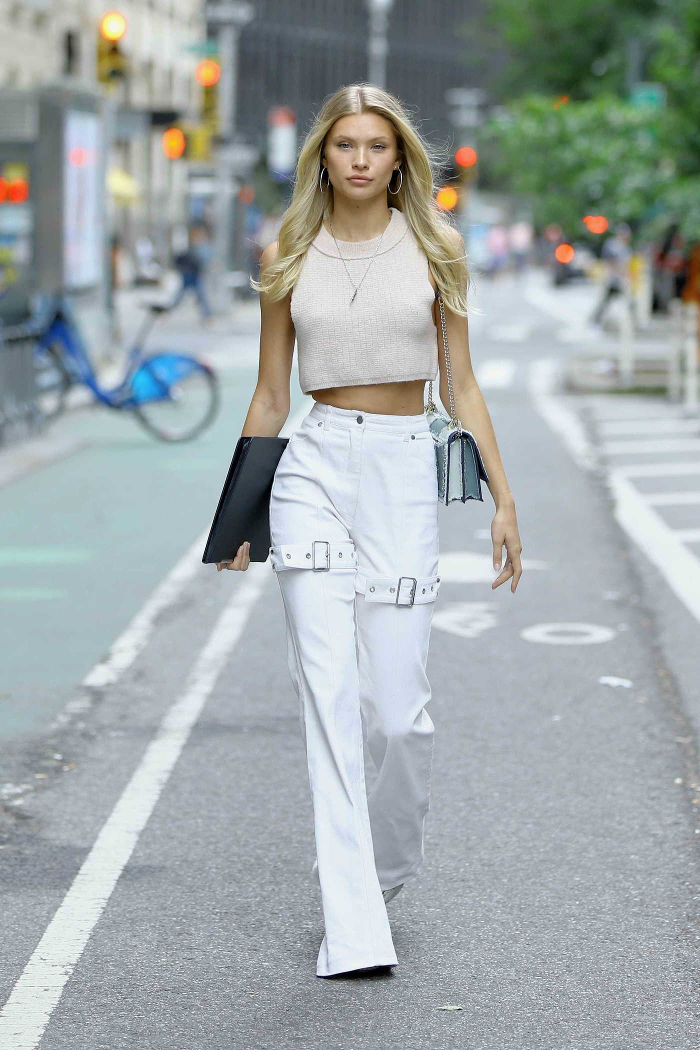 Josie Canseco Arrives at the Casting Call for the Victoria's Secret Fashion Show in NYC 08/30/2018