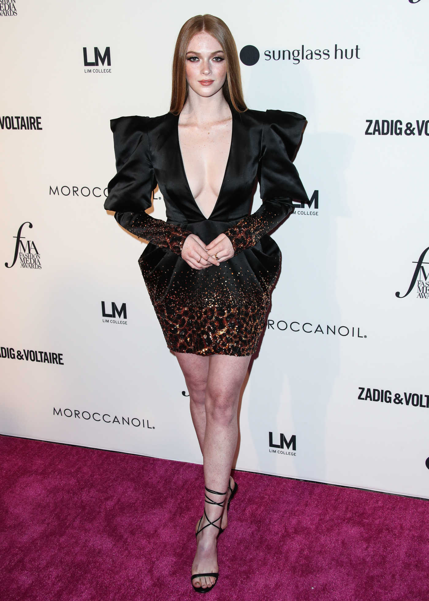 Larsen Thompson at Daily Front Row's Fashion Media Awards in New York City 09/06/2018