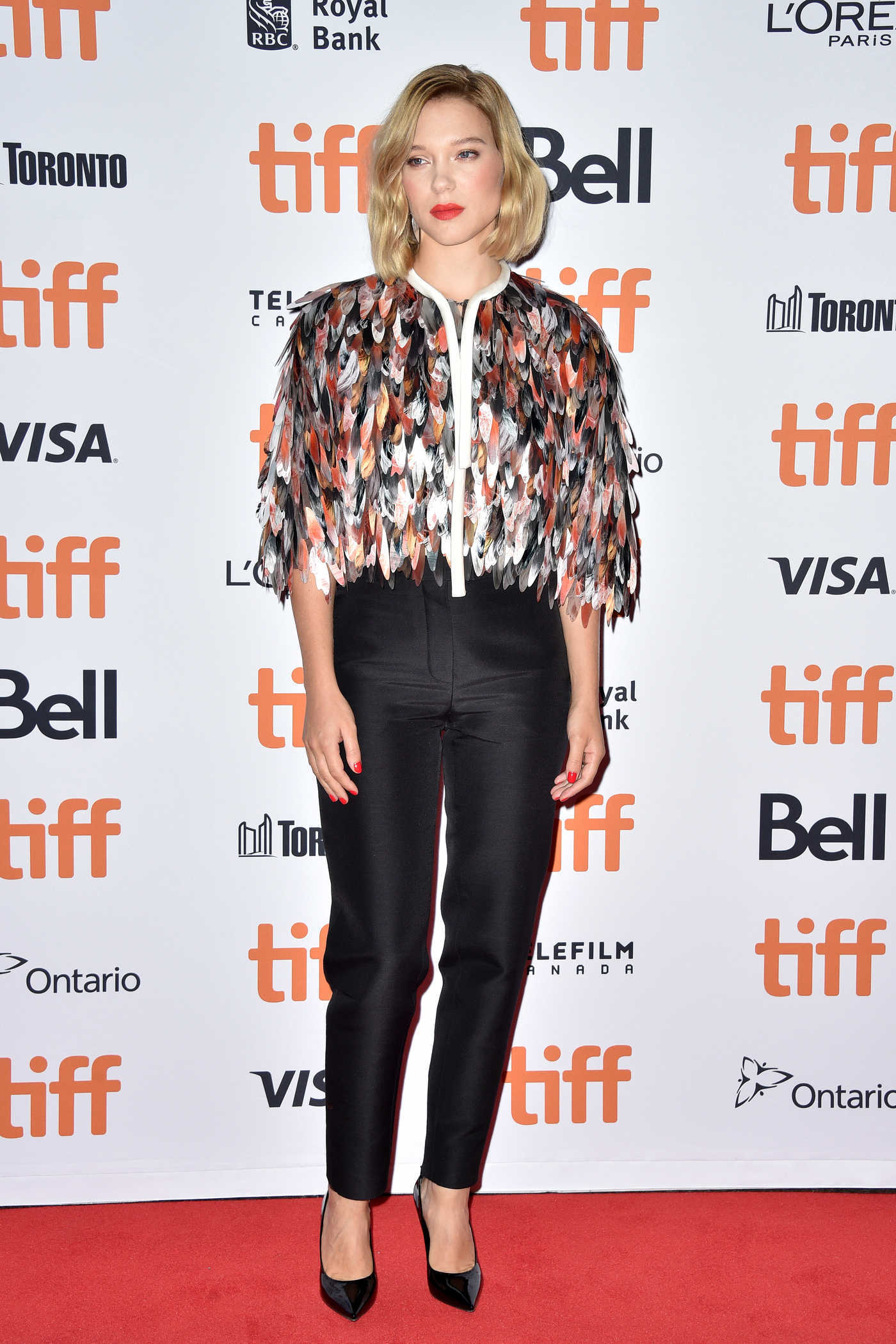 Lea Seydoux at Kursk Photocall During the Toronto International Film Festival in Toronto 09/06/2018