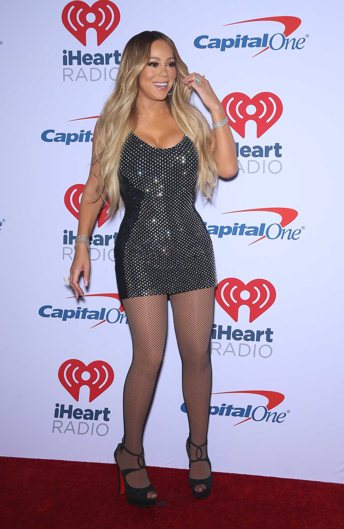 Mariah Carey Attends iHeartRadio Music Festival at T-Mobile Arena in Las Vegas 09/21/2018