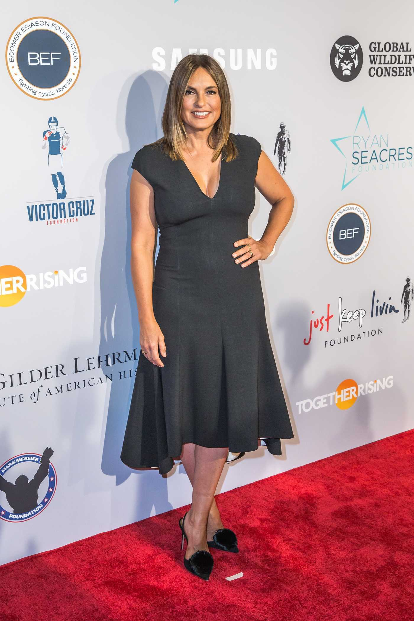 Mariska Hargitay at Samsung Charity Gala in New York City 09/27/2018