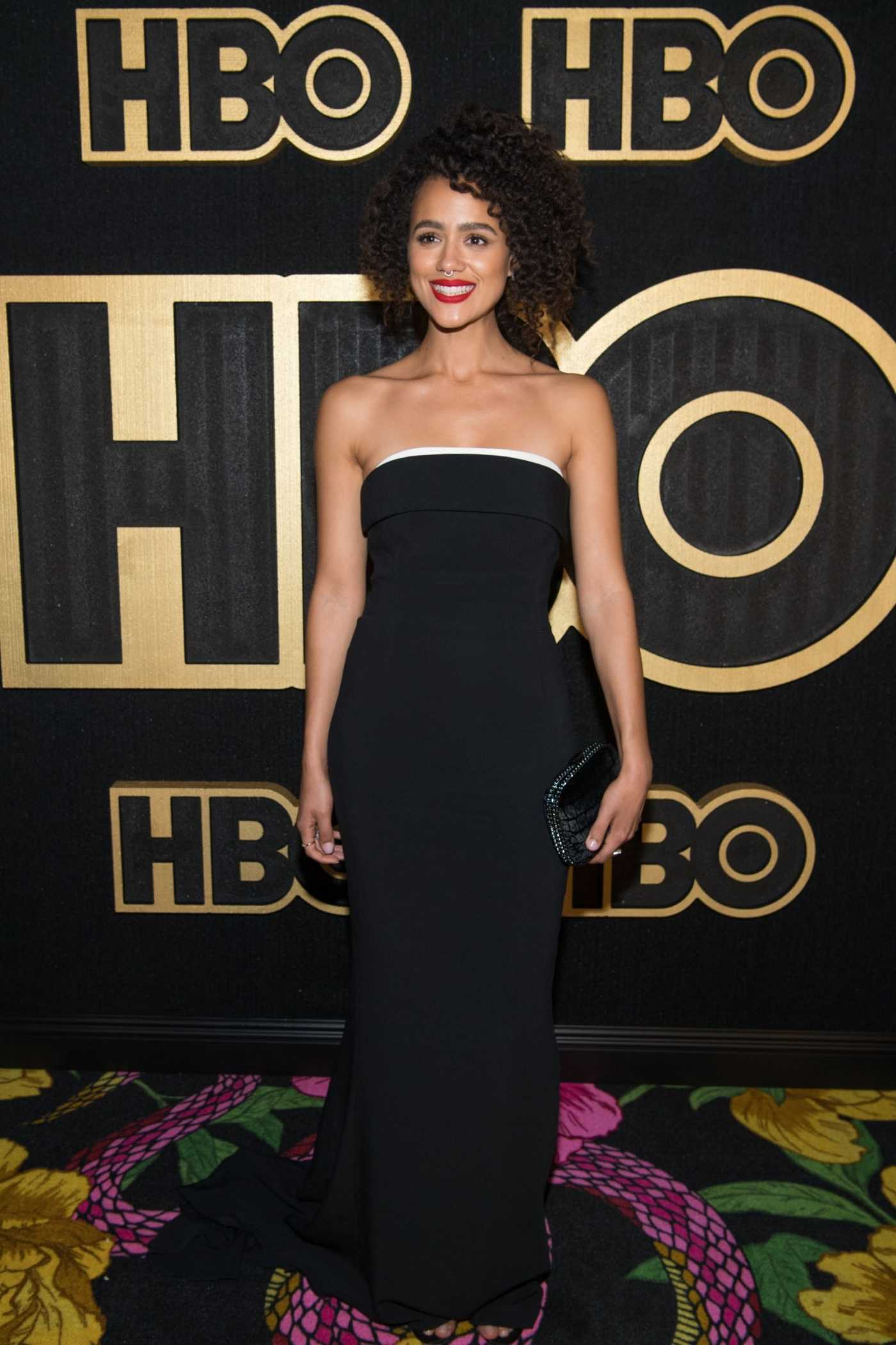 Nathalie Emmanuel at the 70th Primetime Emmy Awards HBO Party in LA 09/17/2018