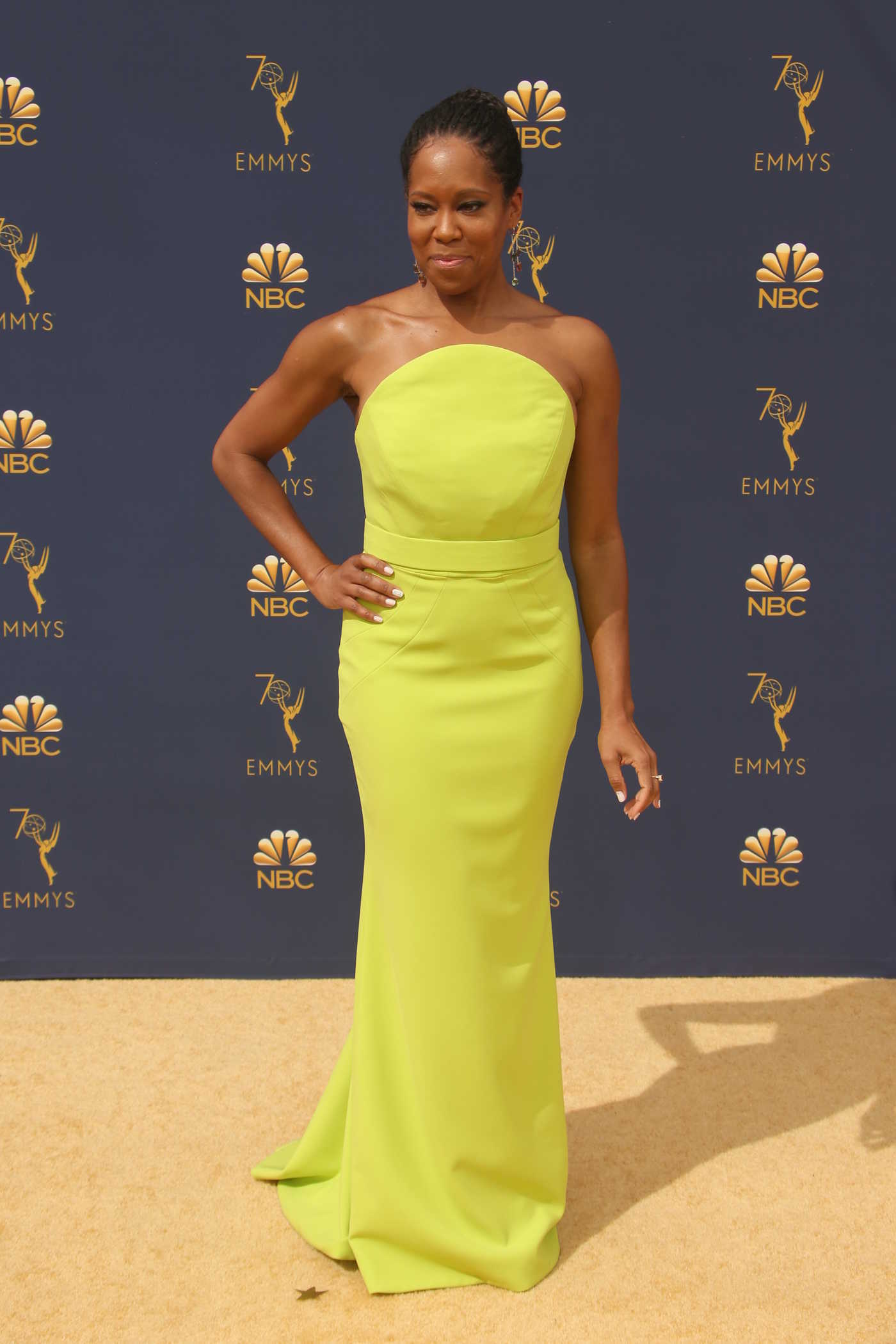 Regina King at the 70th Primetime Emmy Awards in LA 09/17/2018