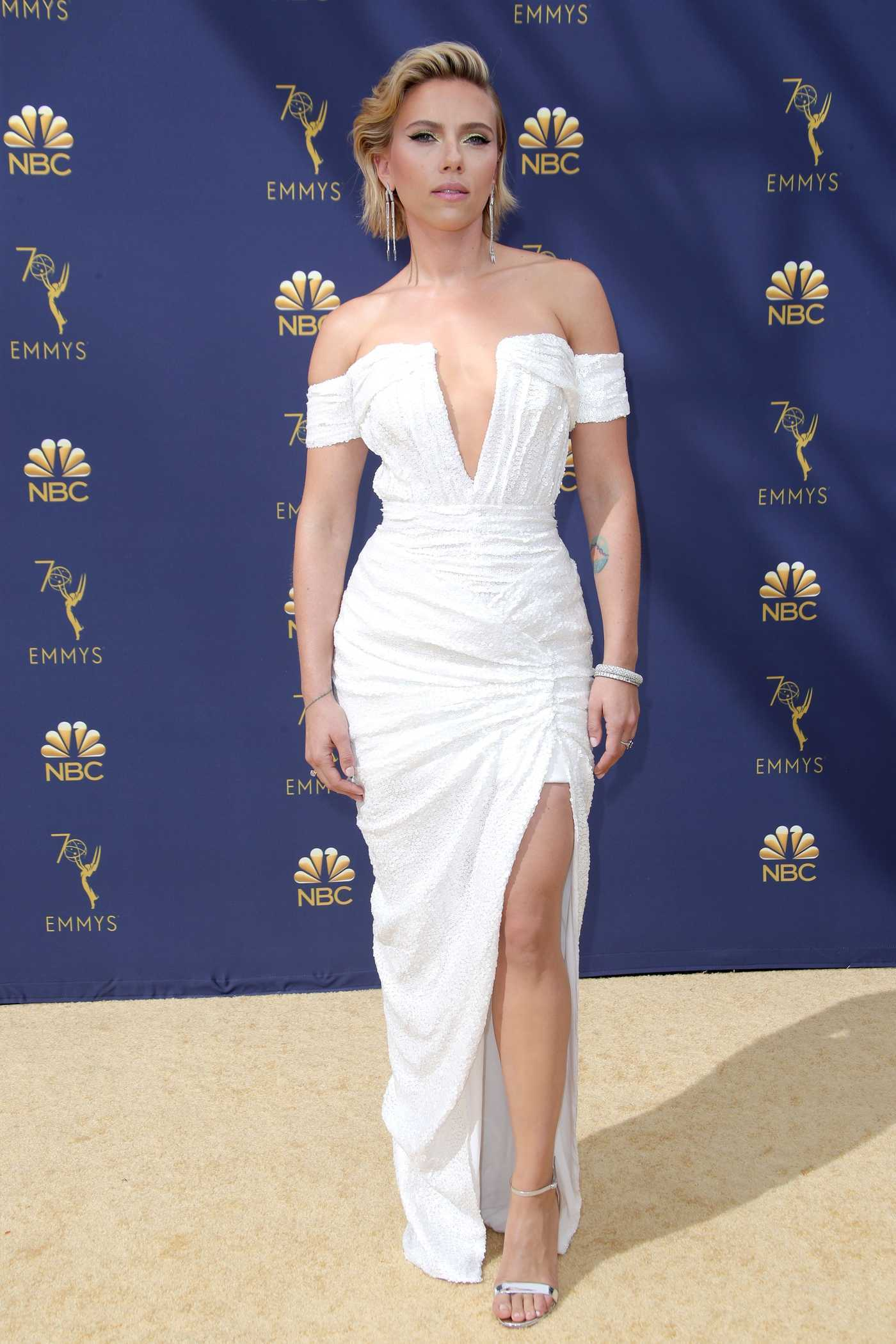 Scarlett Johansson at the 70th Primetime Emmy Awards in LA 09/17/2018