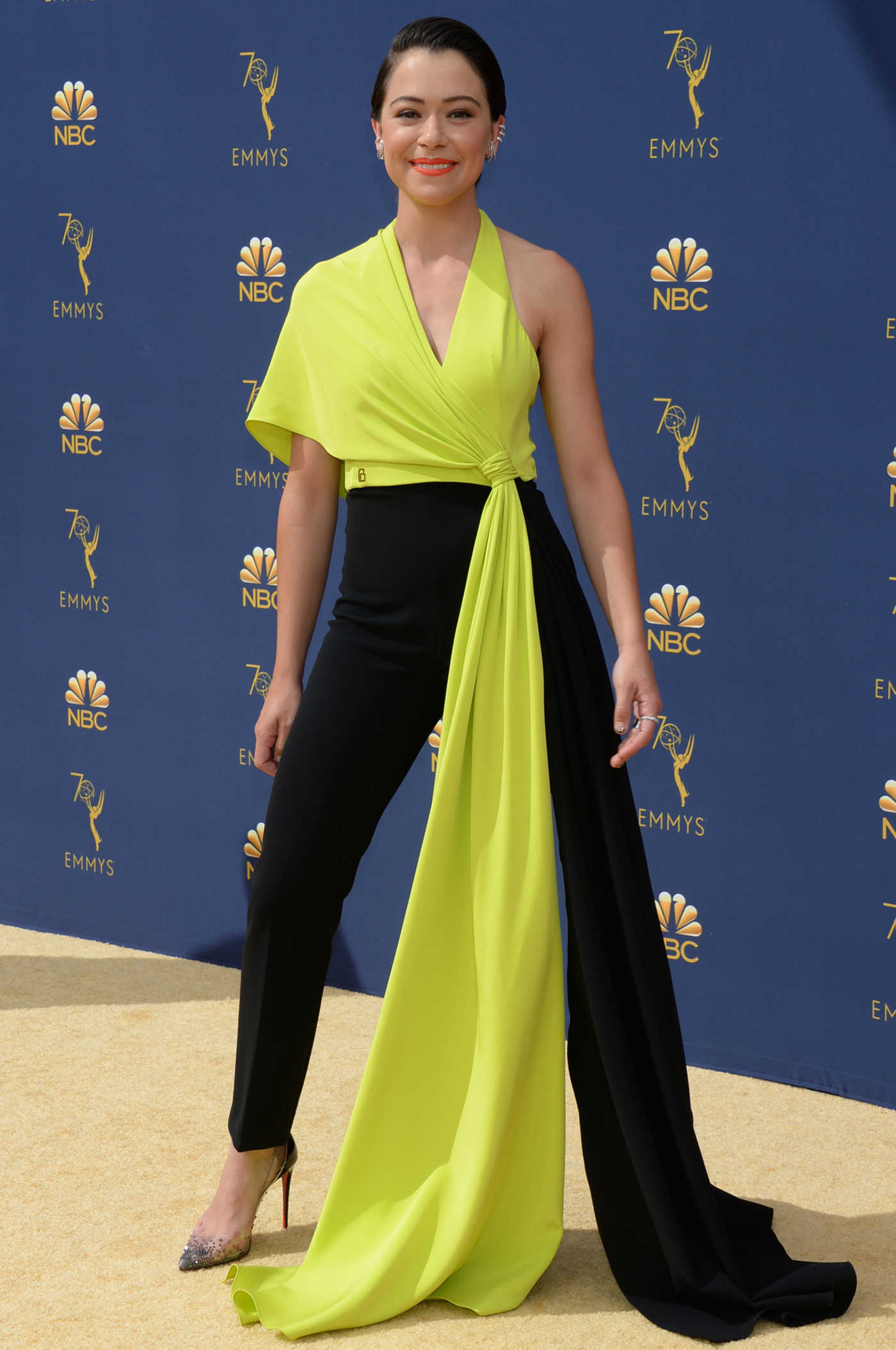 Tatiana Maslany at the 70th Primetime Emmy Awards in LA 09/17/2018