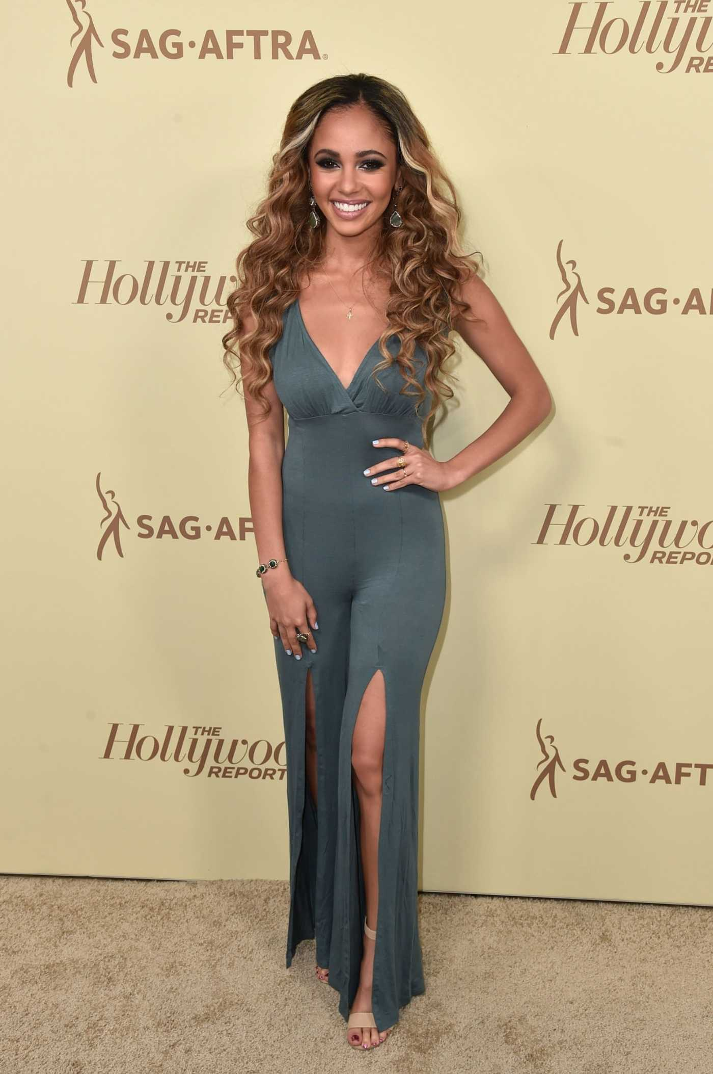 Vanessa Morgan at the 2nd Annual Emmy Nominees Night in Beverly Hills 09/14/2018