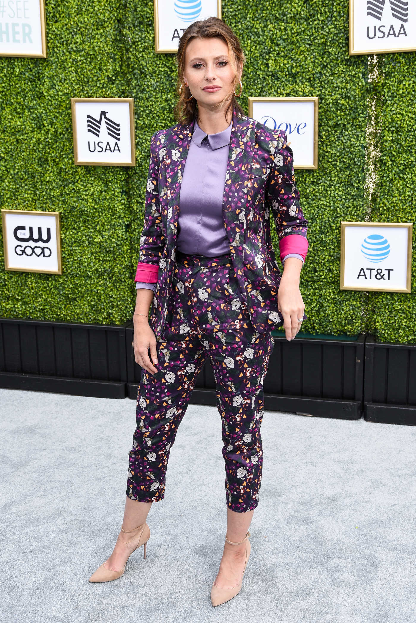 Aly Michalka Attends the CW Networks Fall Launch Event in LA 10/14/2018