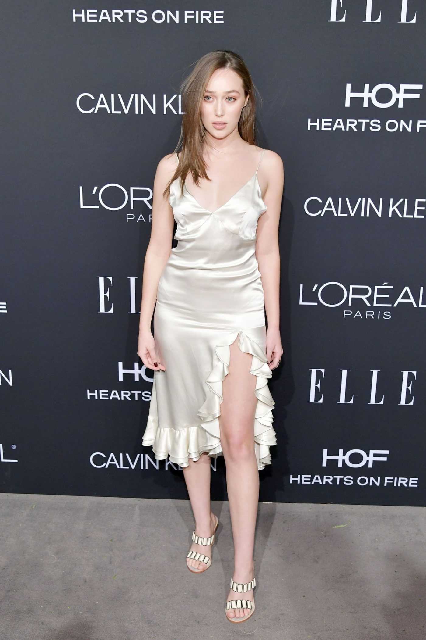 Alycia Debnam-Carey Attends ELLE's 25th Annual Women in Hollywood Celebration in Beverly Hills 10/15/2018
