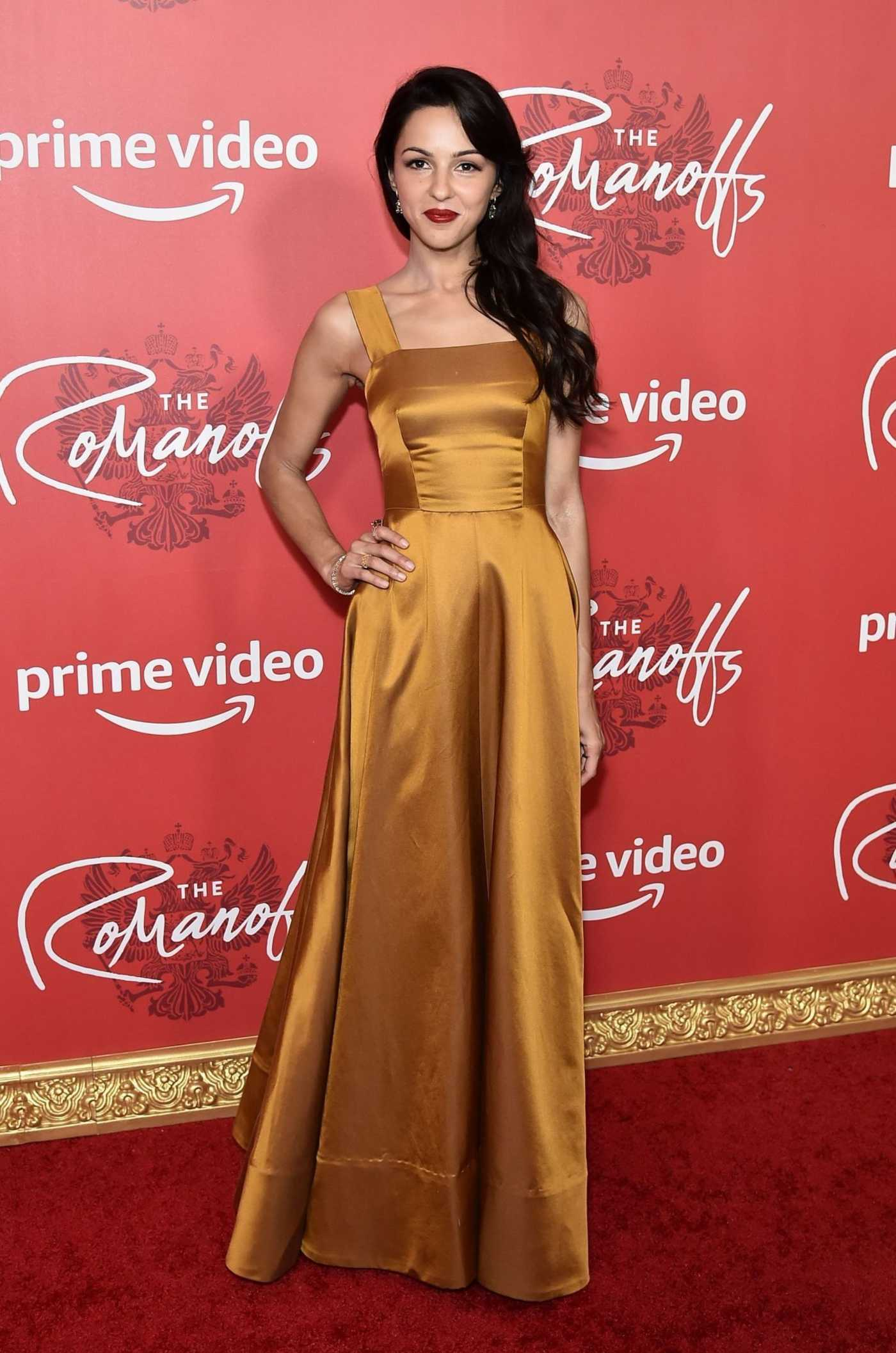 Annet Mahendru at The Romanoffs Series Premiere in NYC 10/11/2018