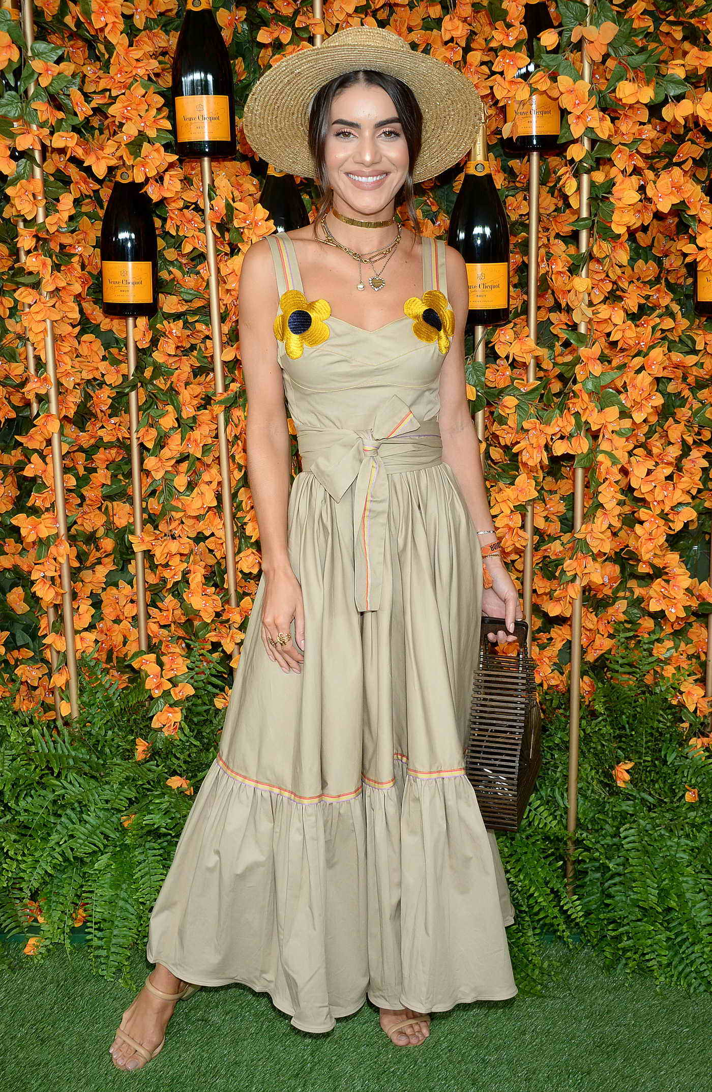 Camila Coelho Attends the 9th Annual Veuve Clicquot Polo Classic in LA 10/06/2018