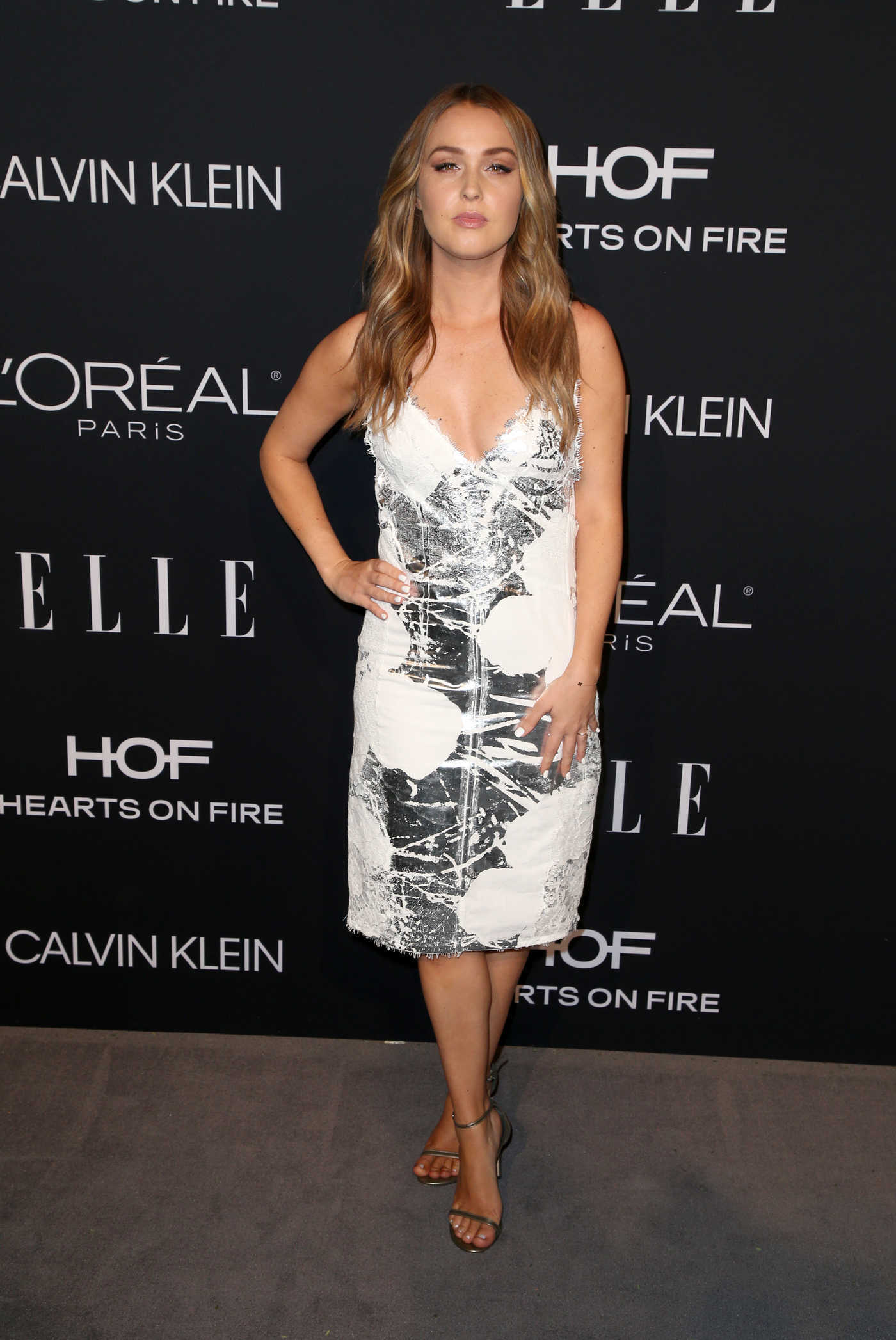 Camilla Luddington Attends ELLE's 25th Annual Women in Hollywood Celebration in Beverly Hills 10/15/2018