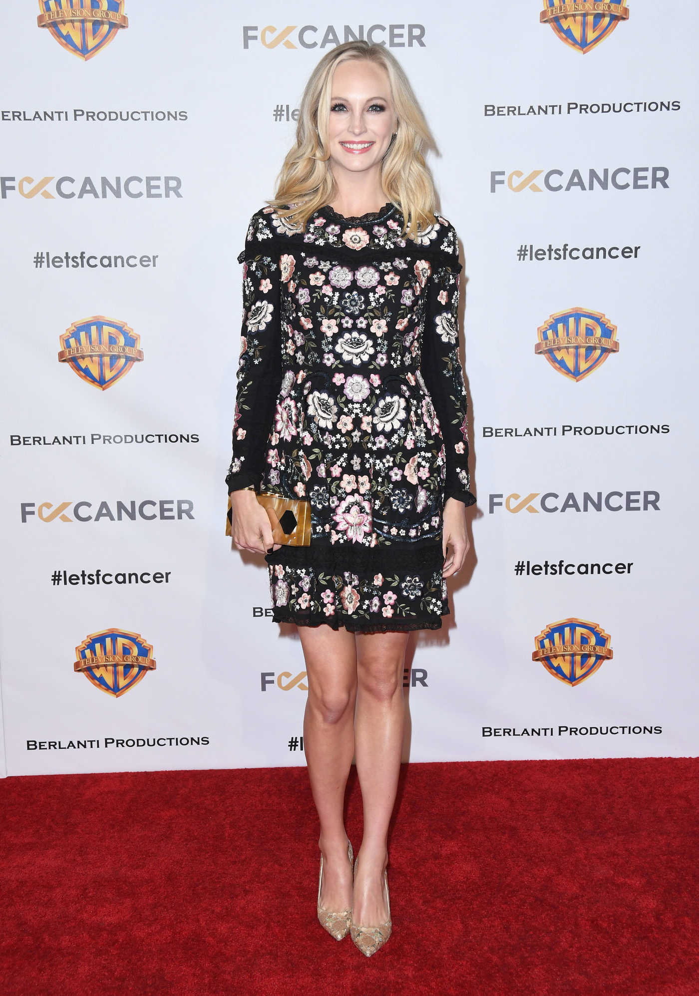 Candice King Attends Barbara Berlanti Heroes Gala Benefitting F-ck Cancer in Burbank 10/13/2018