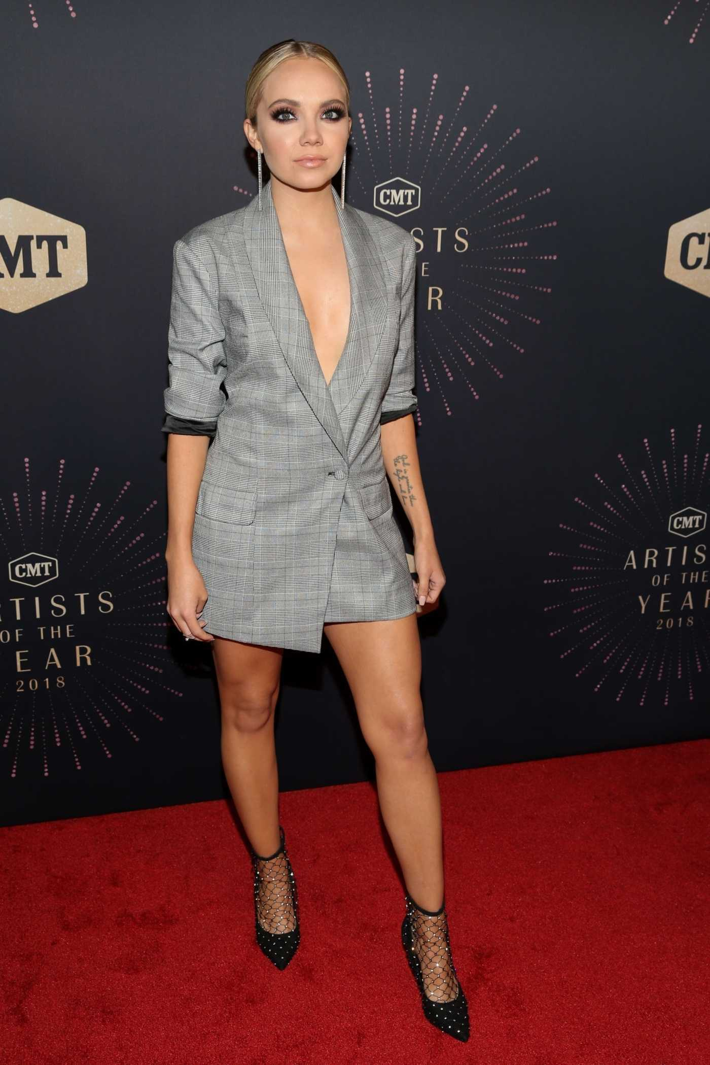 Danielle Bradbery at 2018 CMT Artists of The Year at Schermerhorn Symphony Center in Nashville 10/17/2018