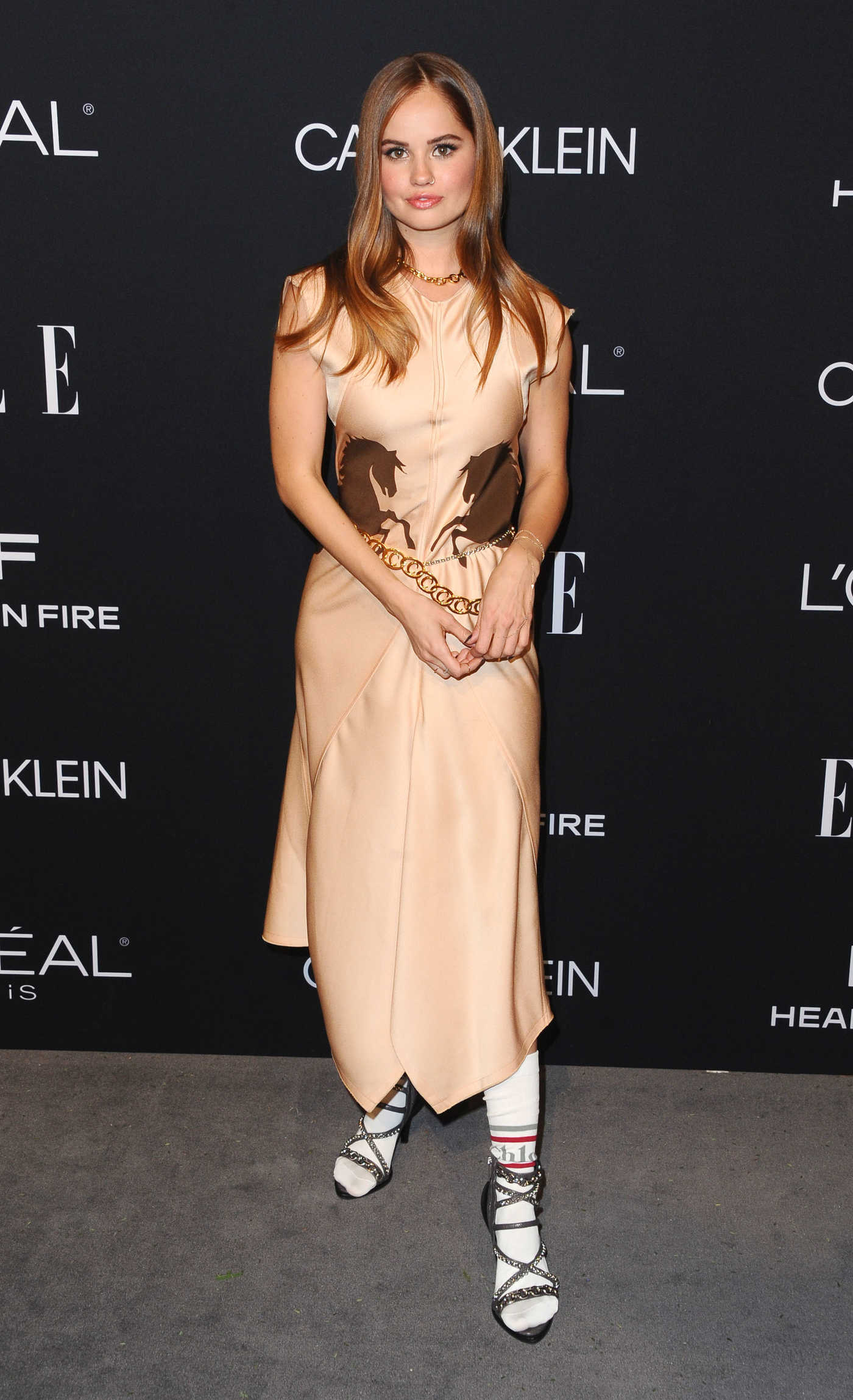 Debby Ryan Attends ELLE's 25th Annual Women in Hollywood Celebration in Beverly Hills 10/15/2018