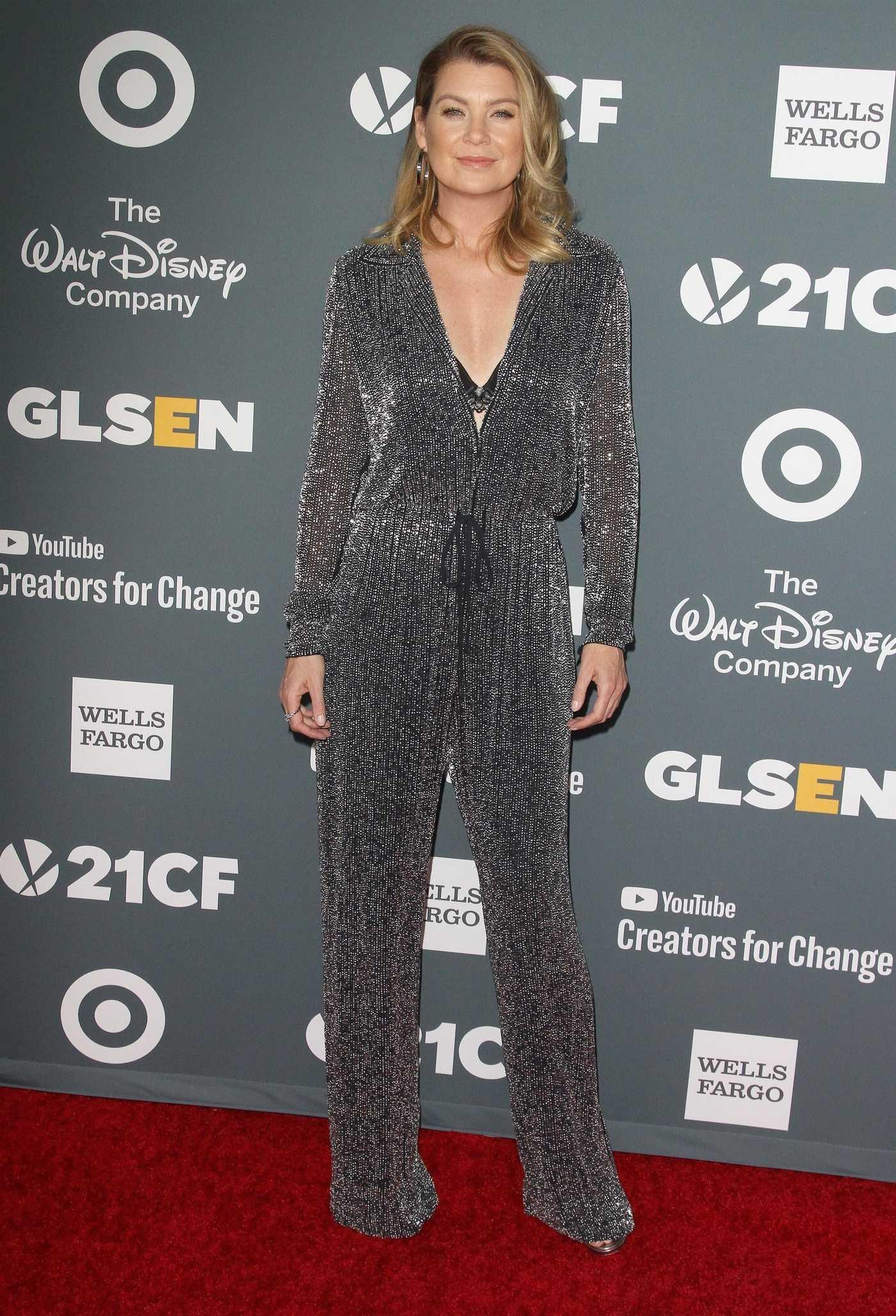 Ellen Pompeo Attends 2018 GLSEN Respect Awards in Beverly Hills 10/19/2018