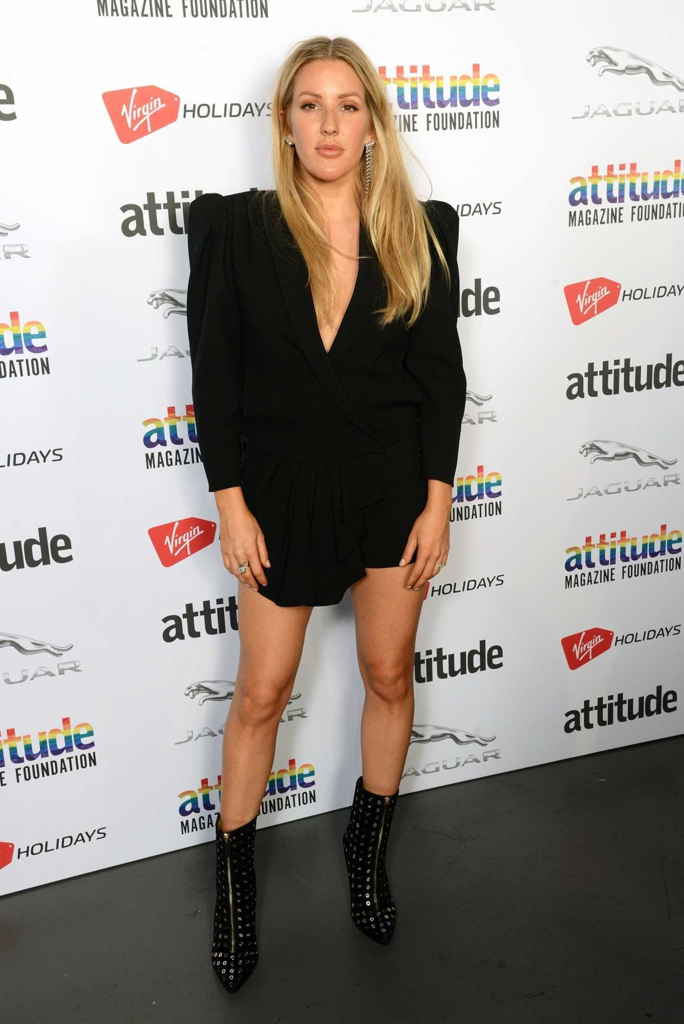 Ellie Goulding Attends 2018 Attitude Magazine Awards in London 10/11/2018