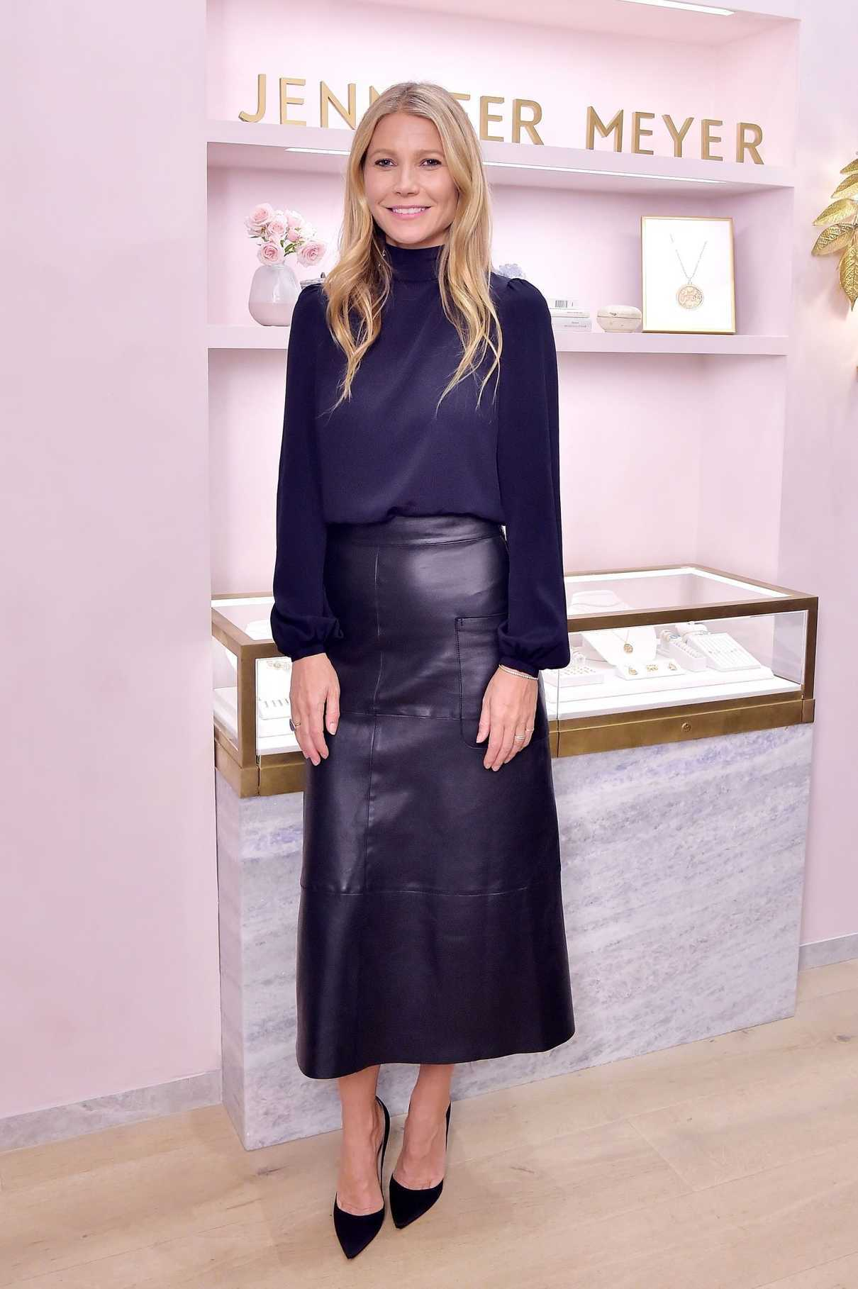 Gwyneth Paltrow Attends Jennifer Meyer Celebrates First Store Opening in Palisades Village 10/17/2018
