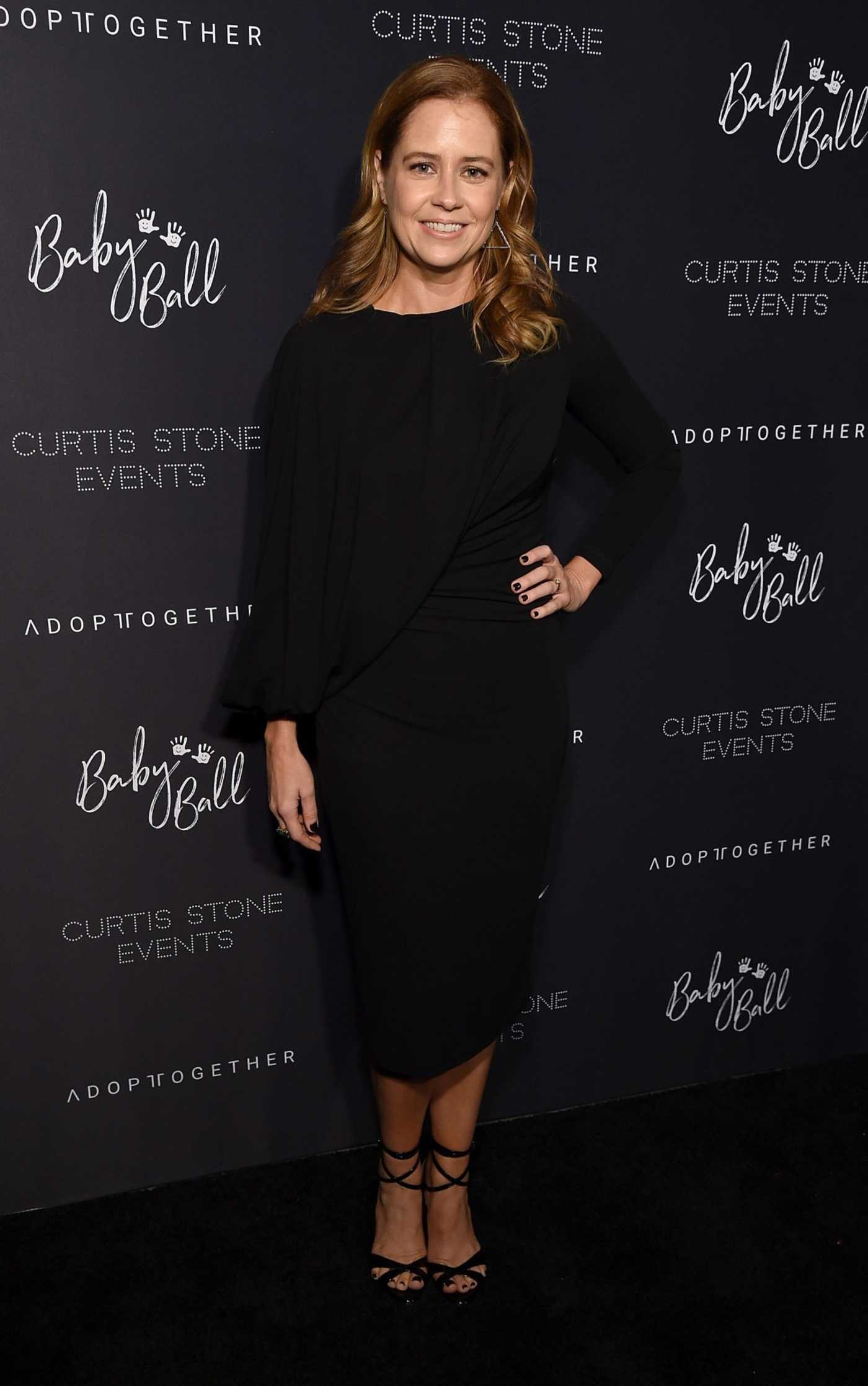 Jenna Fischer Attends the 4th Adopt Together Baby Ball Gala in Los Angeles 10/19/2018
