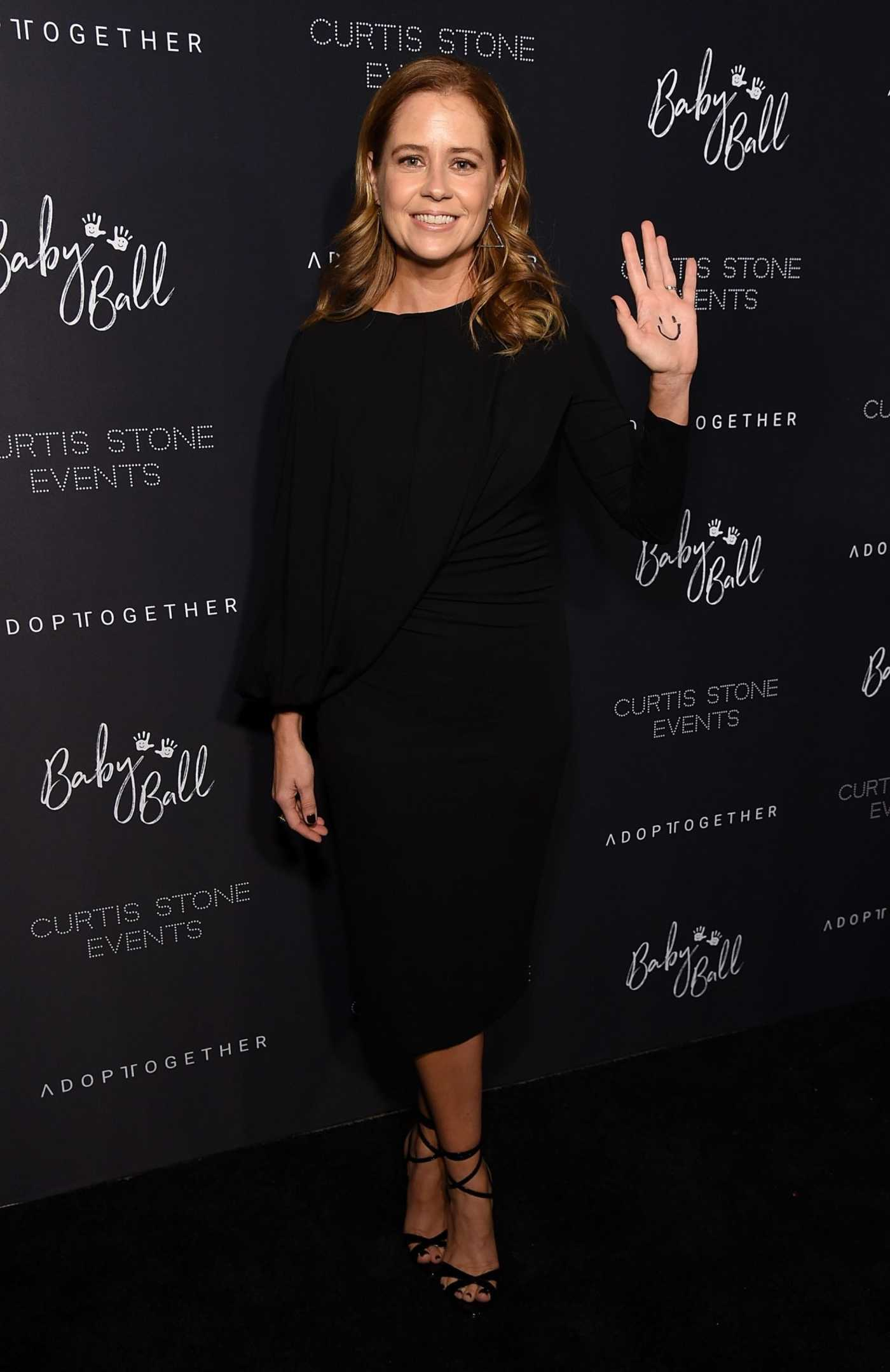 9bc0be2944e56 Jenna Fischer Attends the 4th Adopt Together Baby Ball Gala in Los ...