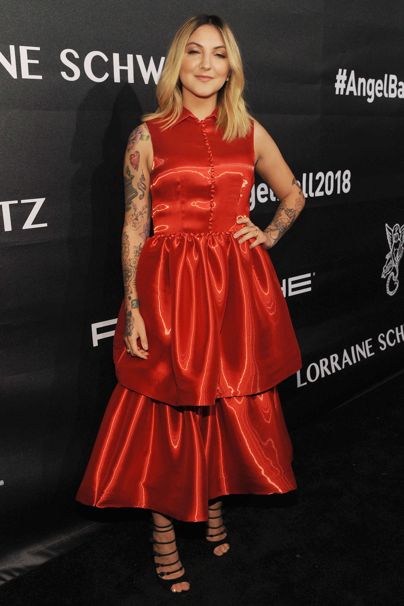 Julia Michaels Attends 2018 Angel Ball in New York City 10/22/2018