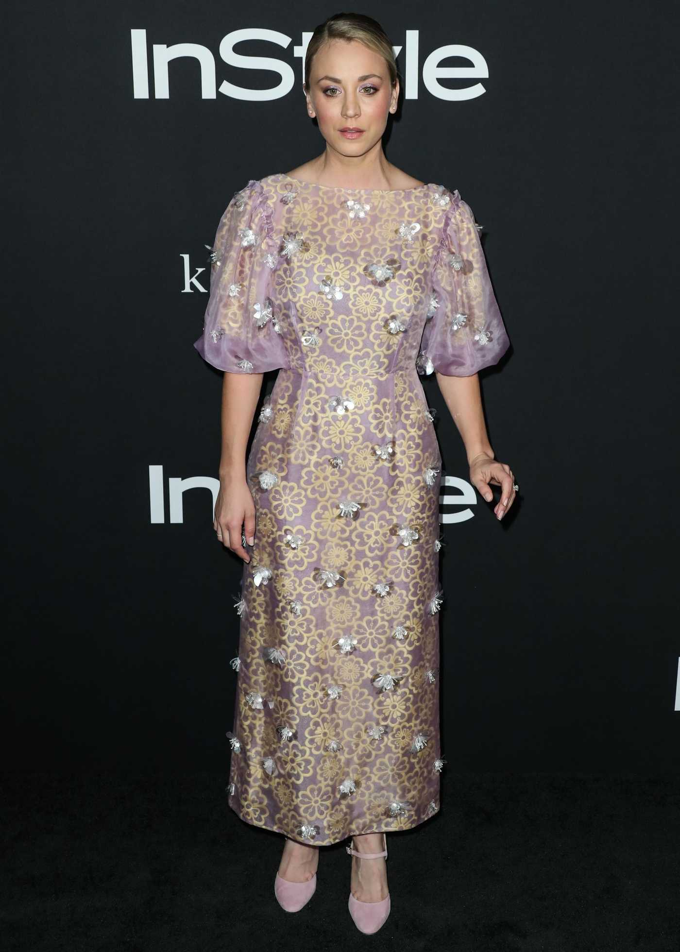 Kaley Cuoco Attends the 4th Annual InStyle Awards at The Getty Center in Los Angeles 10/22/2018